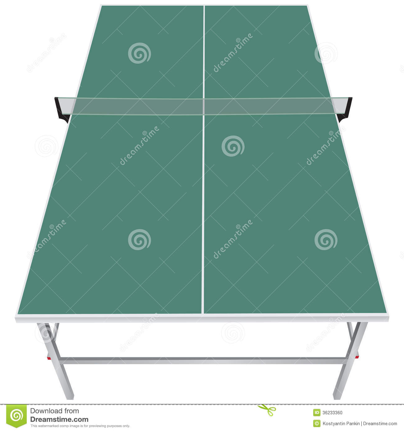 Table For Table Tennis Stock Photo Image 36233360