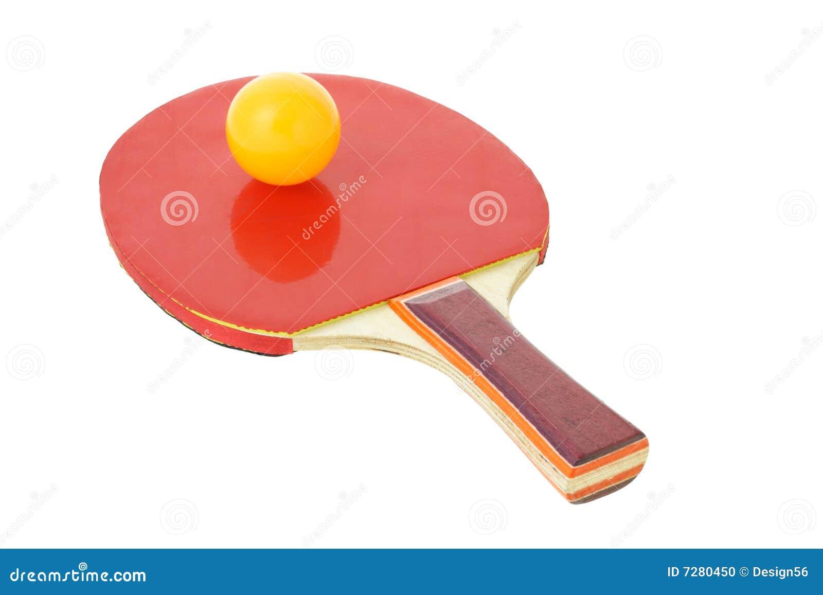 Table Tennis Bat And Ball Stock Photo Image 7280450
