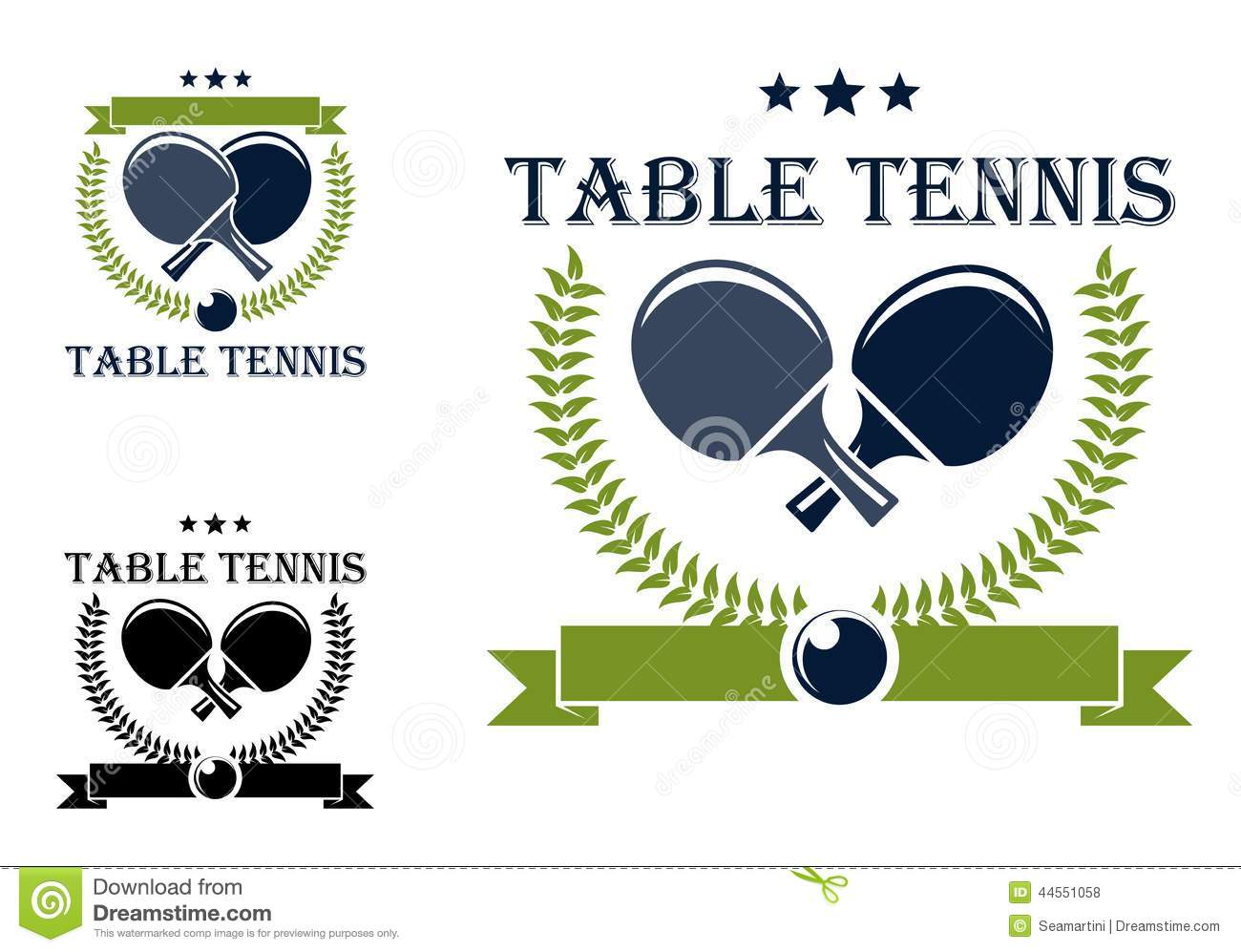 Table tennis or...