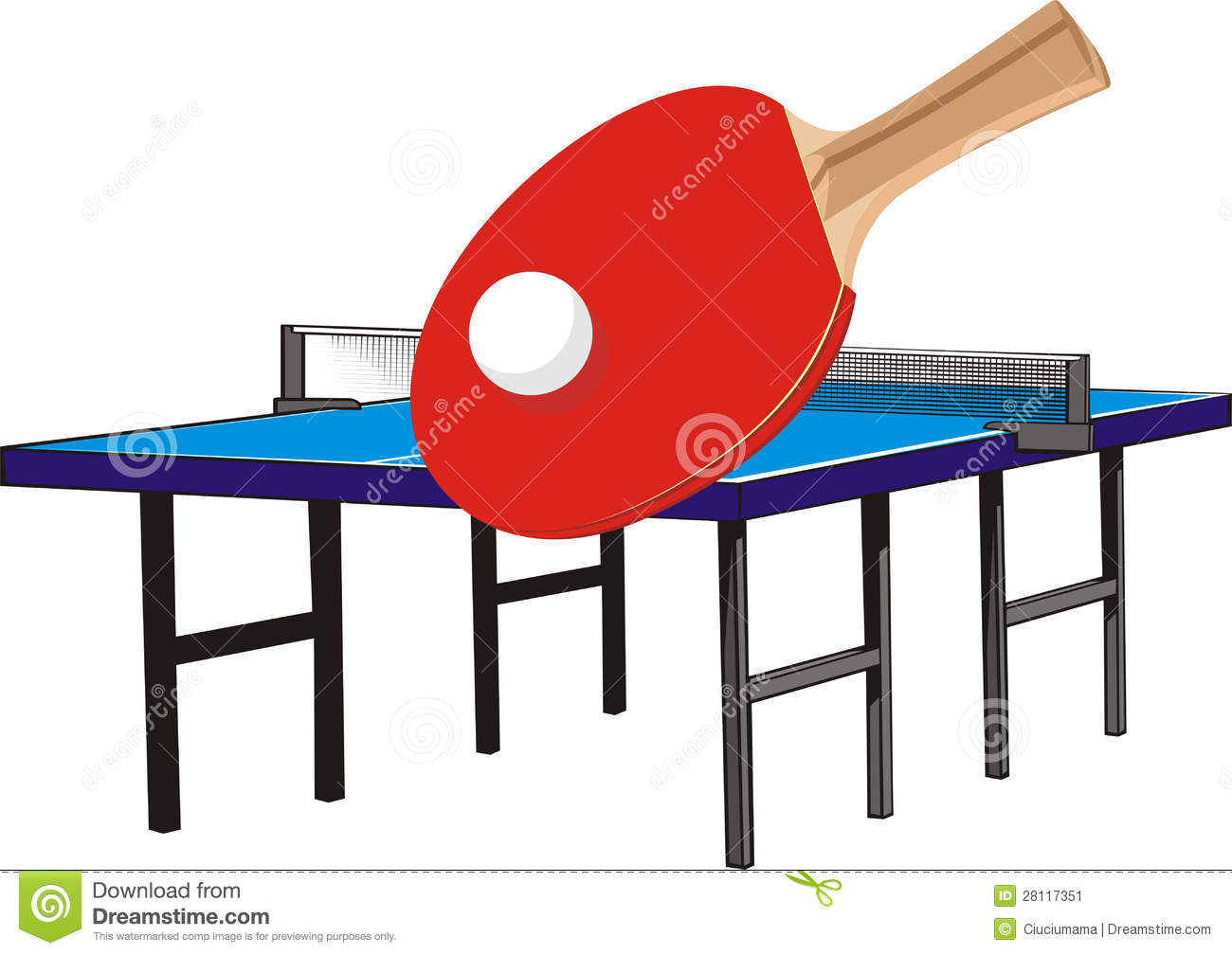 Table tennis equipment stock image image of indoor 28117351 - Equipment for table tennis ...