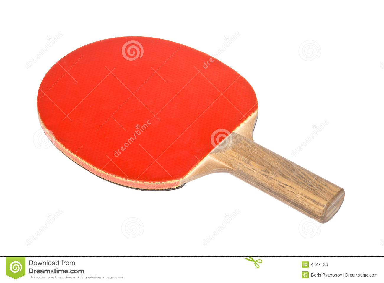 Table Tennis Equipment Royalty Free Stock Image - Image: 4248126