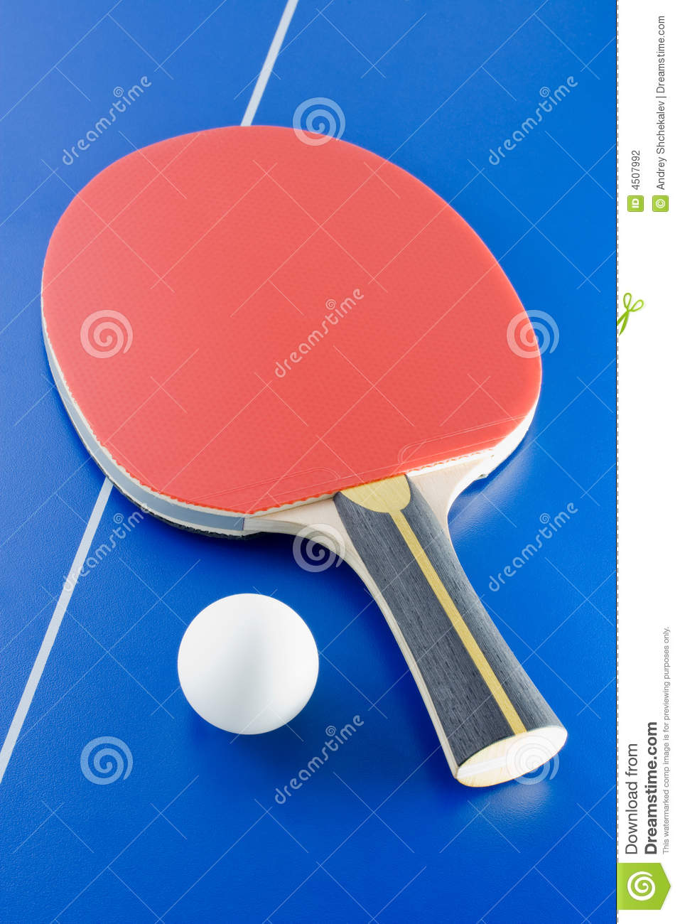Table tennis equipment stock photography image 4507992 - Equipment for table tennis ...