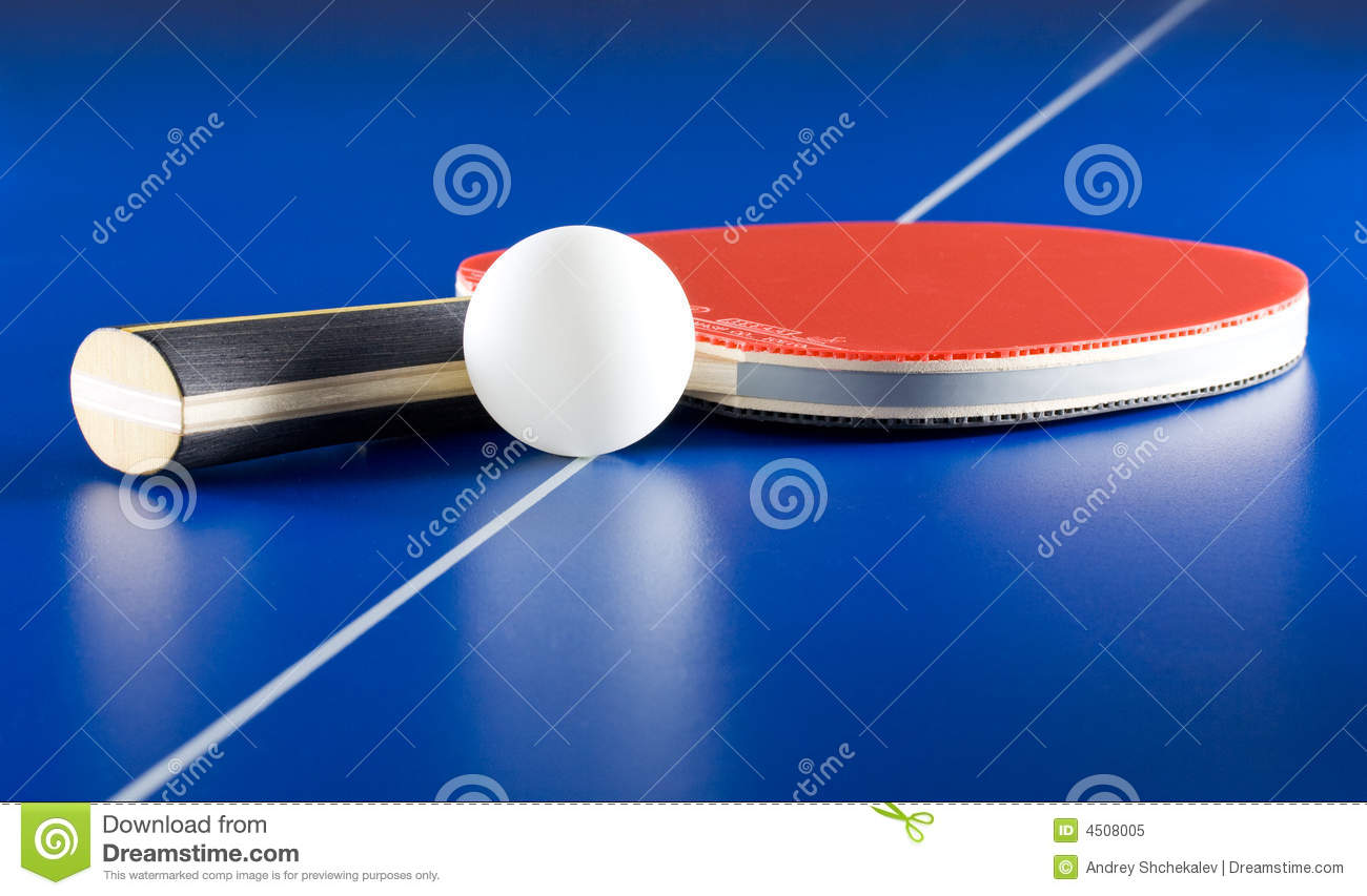 Table tennis equipment royalty free stock photo image 4508005 - Equipment for table tennis ...