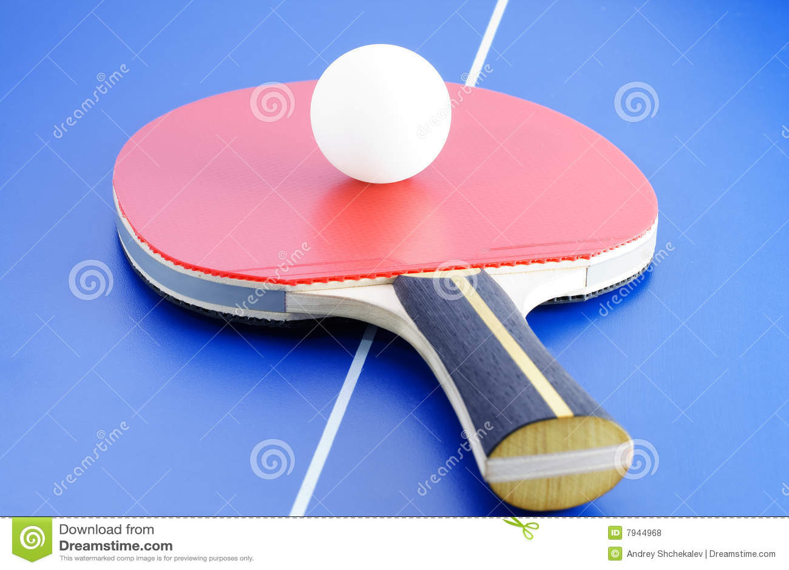 Tennis equipment vector illustration 26185184 - Equipment for table tennis ...
