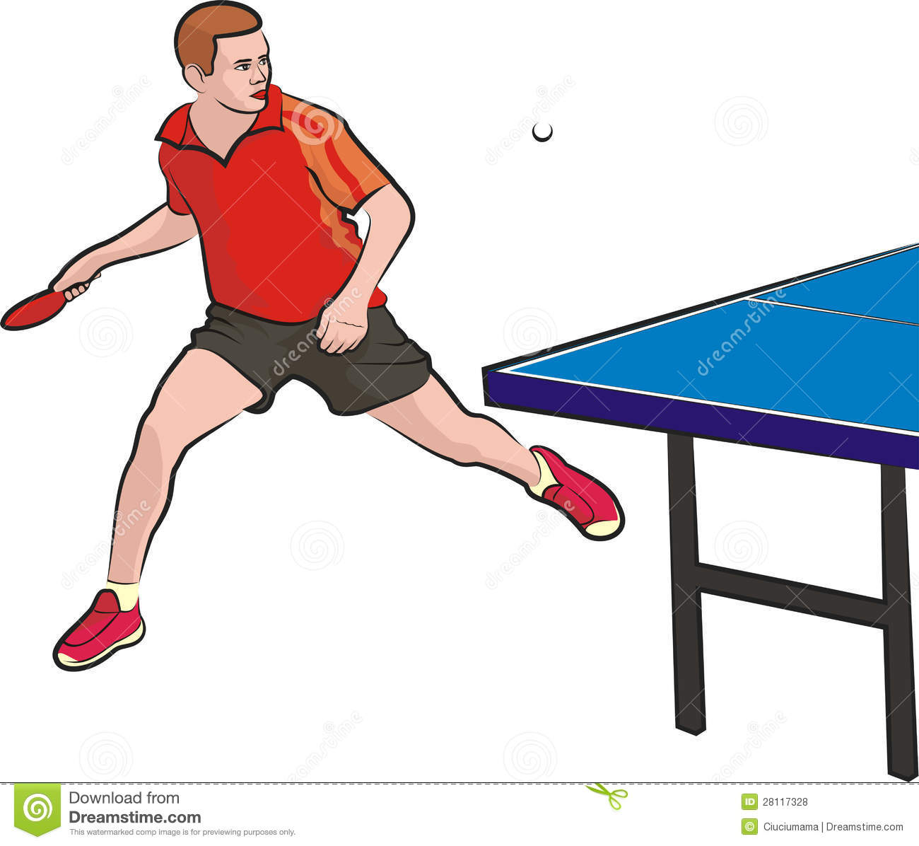 how to play singles table tennis