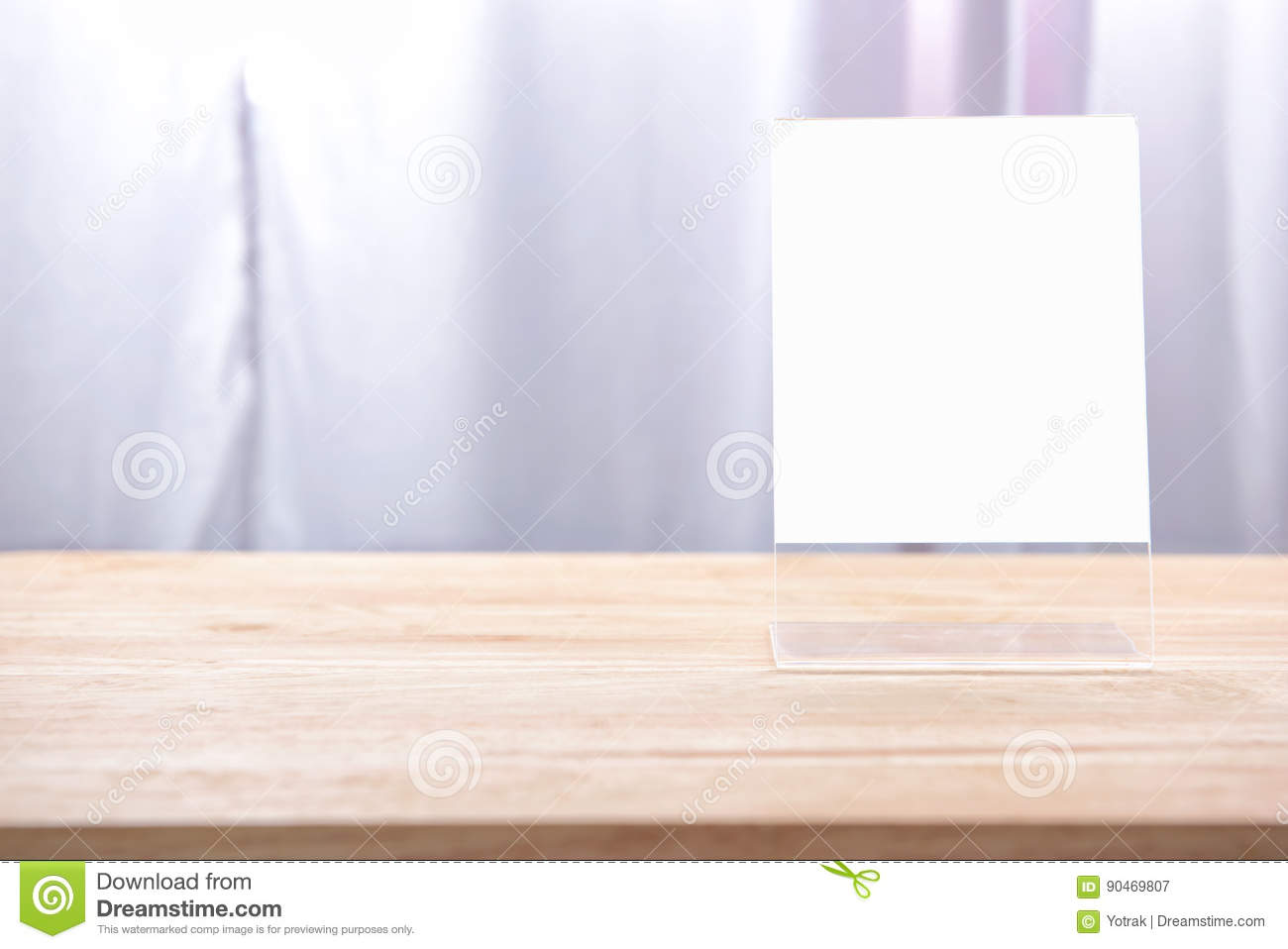 Table Tent Stock Image Image Of Place Cafe Background - Wooden table tents