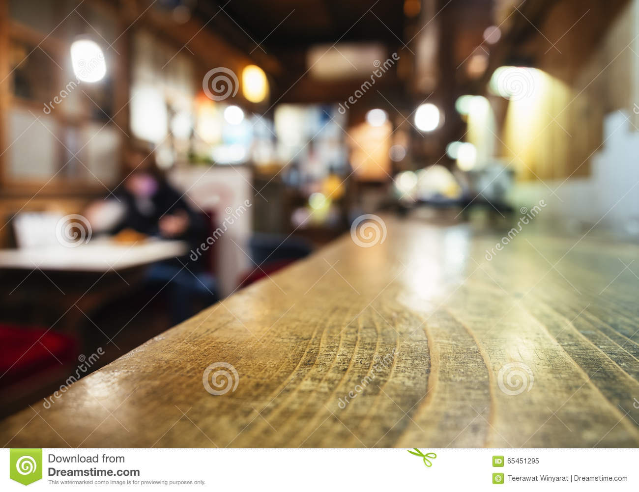 Restaurant Background With People table top counter bar blurred restaurant background with people