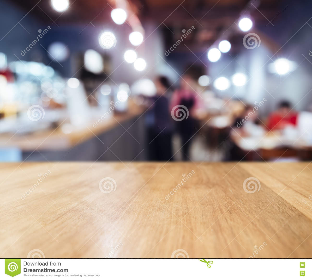 Restaurant Background With People table top counter blurred bar restaurant background with people