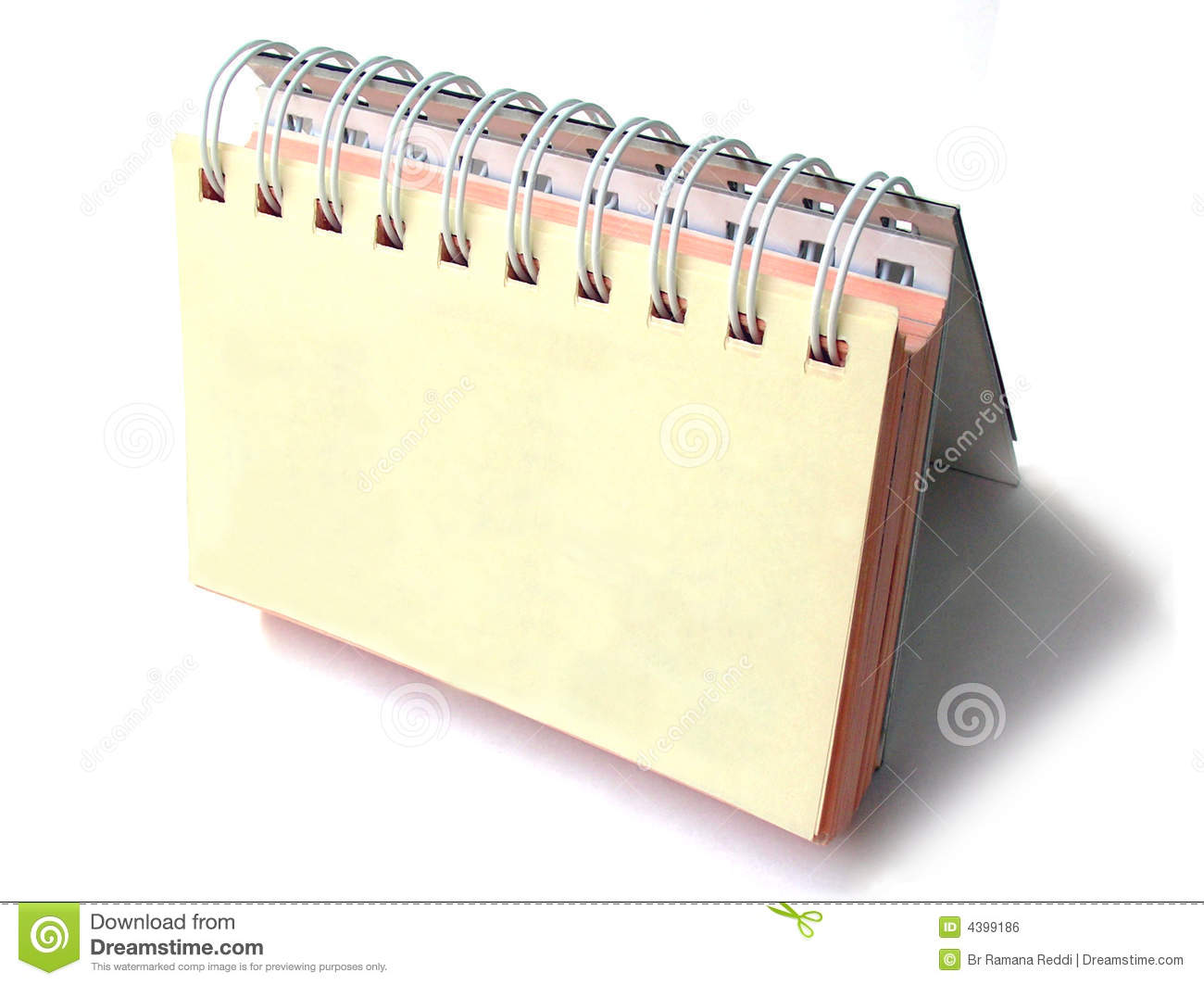Table Top Daily Planner Royalty Free Stock Image Image