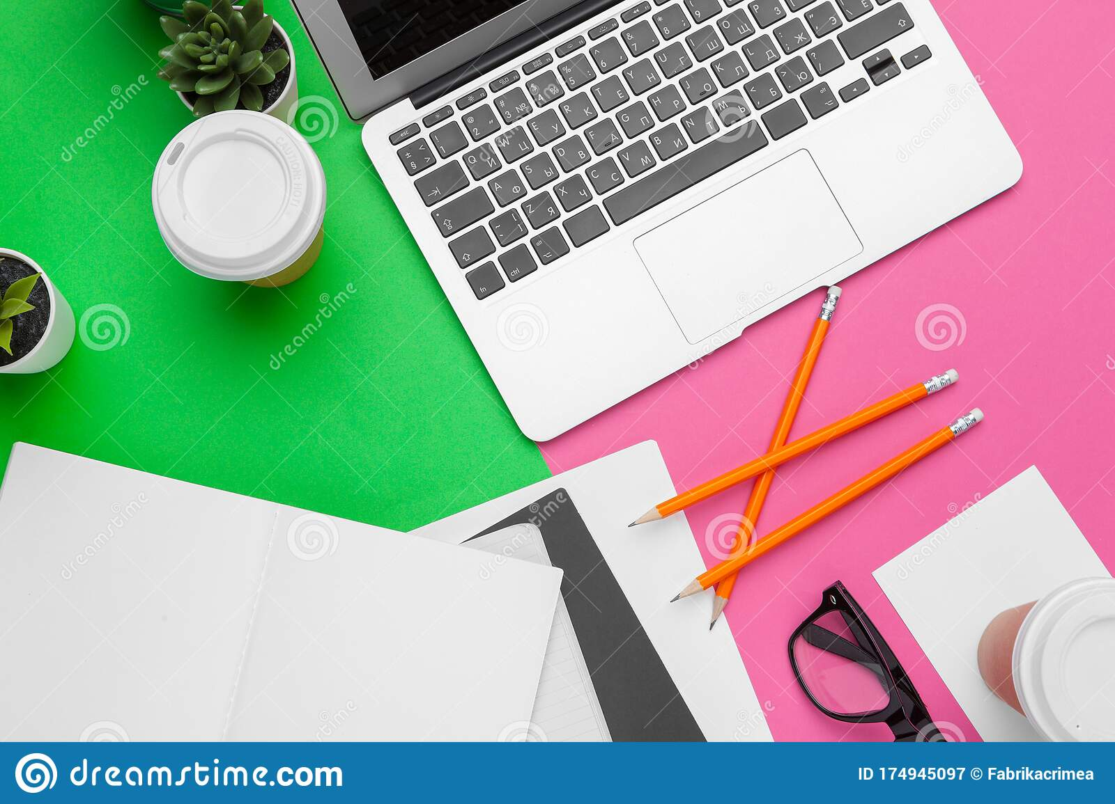 Table Top View Aerial Image Of Accessories Office Desk Background Concept Flat Lay Of Variety Object Creative Photo Stock Image Image Of Education Concept 174945097