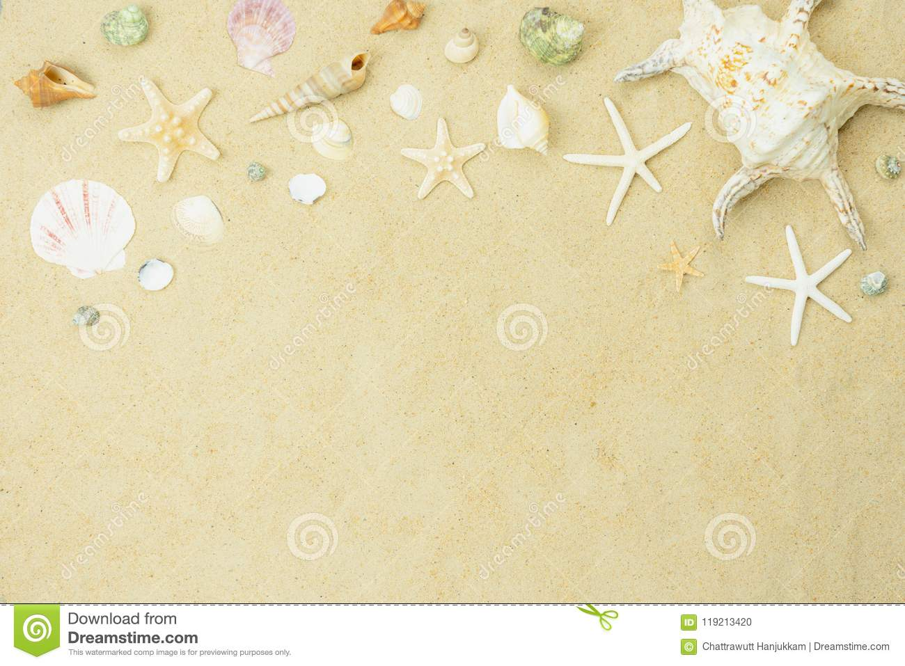 Table top view aerial image of summer & travel beach holiday in the season background concept.