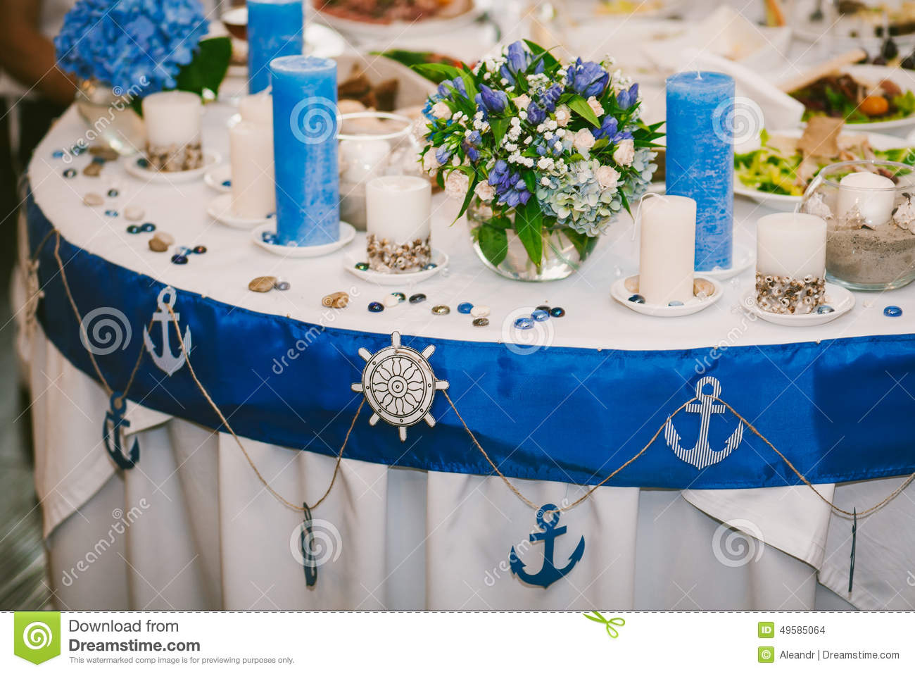 Table waiting for guests stock photo image of blooms 49585064 royalty free stock photo junglespirit Gallery