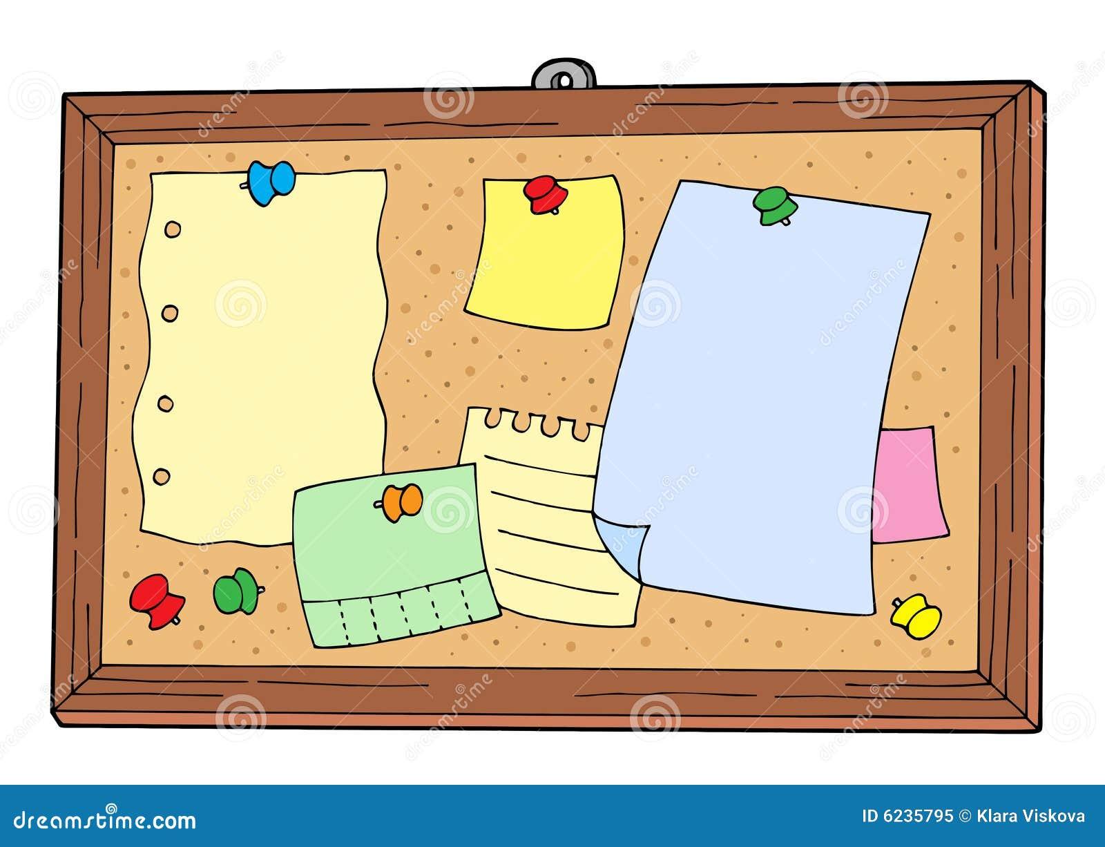 tableau d 39 affichage illustration de vecteur illustration. Black Bedroom Furniture Sets. Home Design Ideas