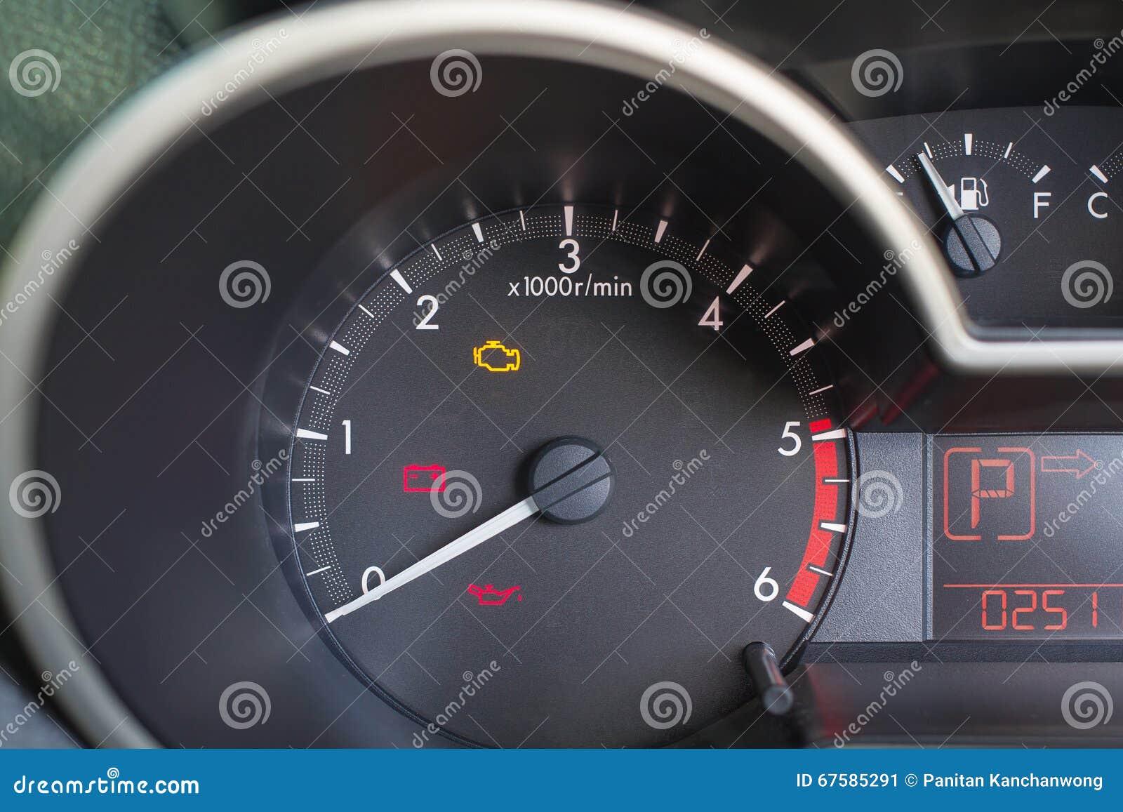 tableau de bord de vitesse de voiture image stock image 67585291. Black Bedroom Furniture Sets. Home Design Ideas