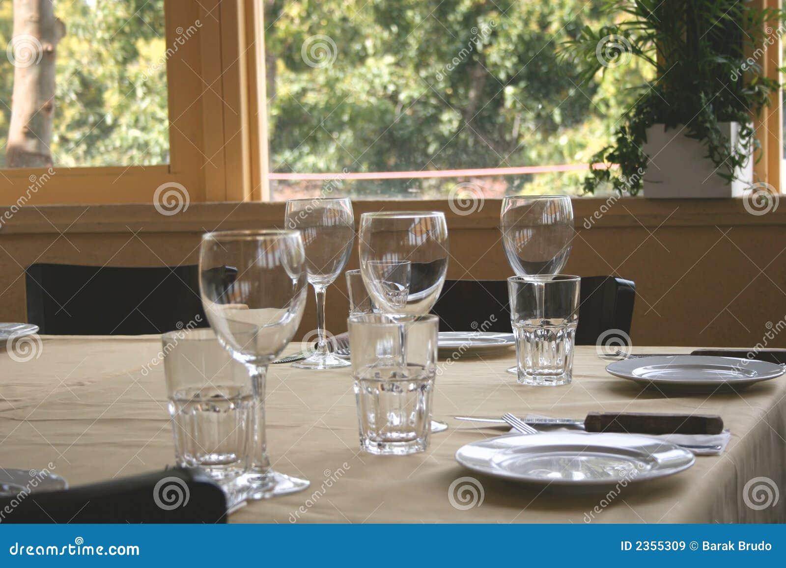 Tableau de restaurant
