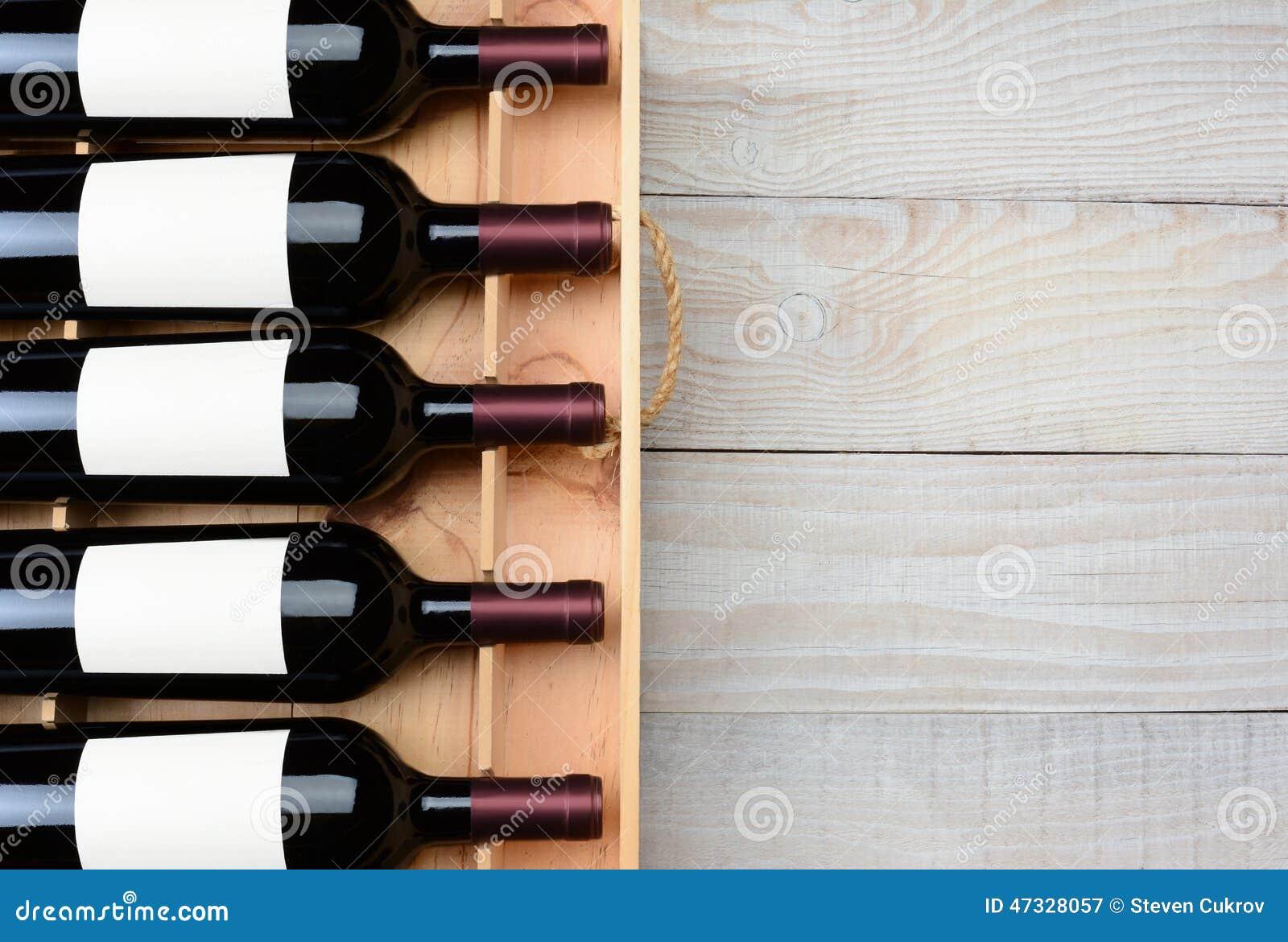 tableau en bois de caisse de bouteille de vin image stock image 47328057. Black Bedroom Furniture Sets. Home Design Ideas