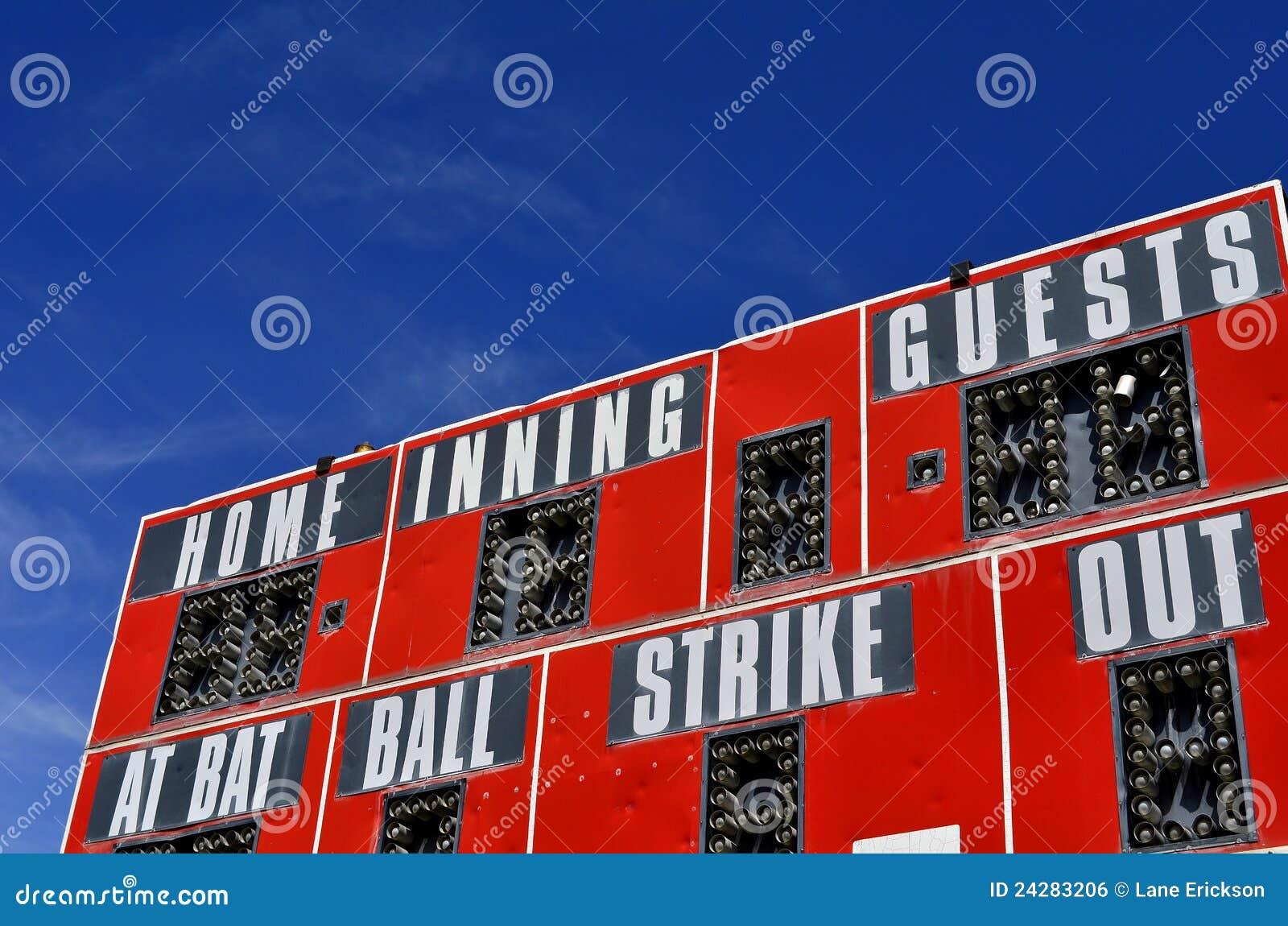 Tableau indicateur de base-ball