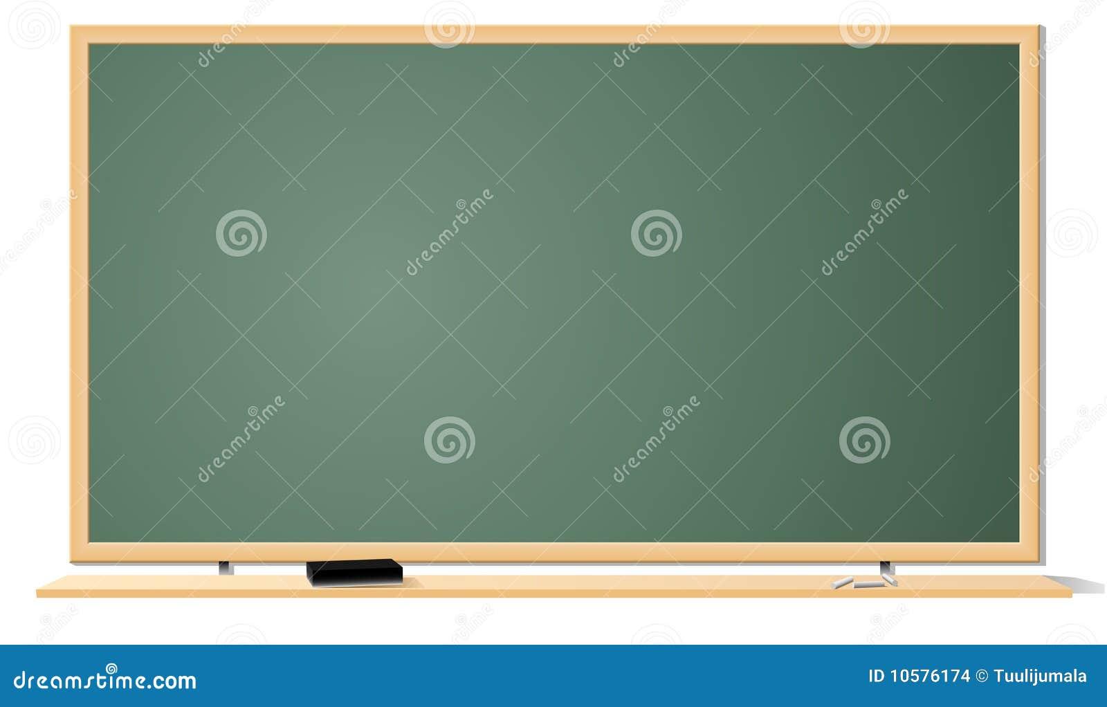 tableau noir de salle de classe illustration de vecteur image 10576174. Black Bedroom Furniture Sets. Home Design Ideas