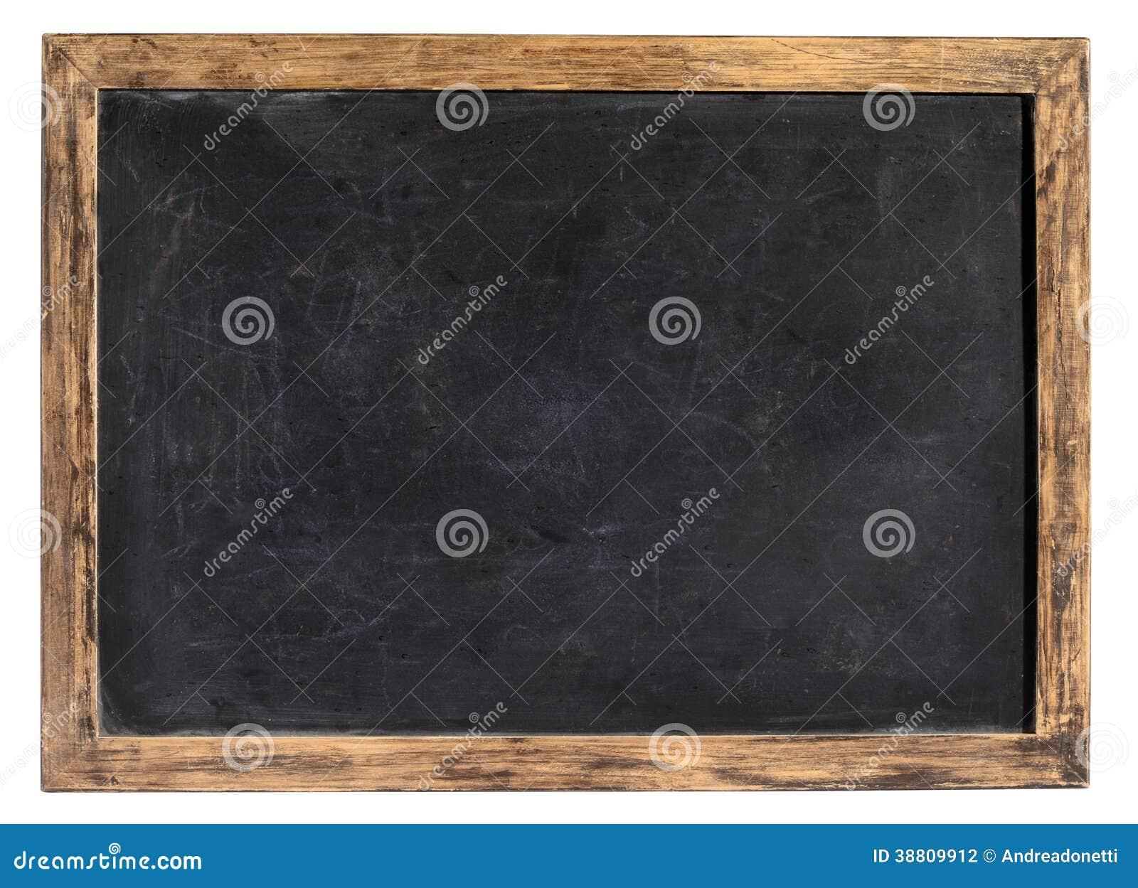 Tableau noir de vintage ou ardoise d 39 cole photo stock - Tableau ardoise noir ...