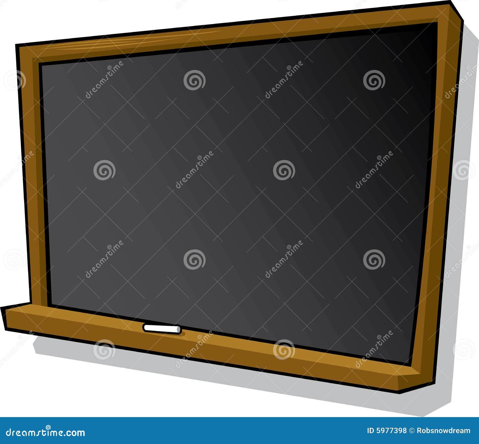 tableau noir et craie de dessin anim photos libres de droits image 5977398. Black Bedroom Furniture Sets. Home Design Ideas