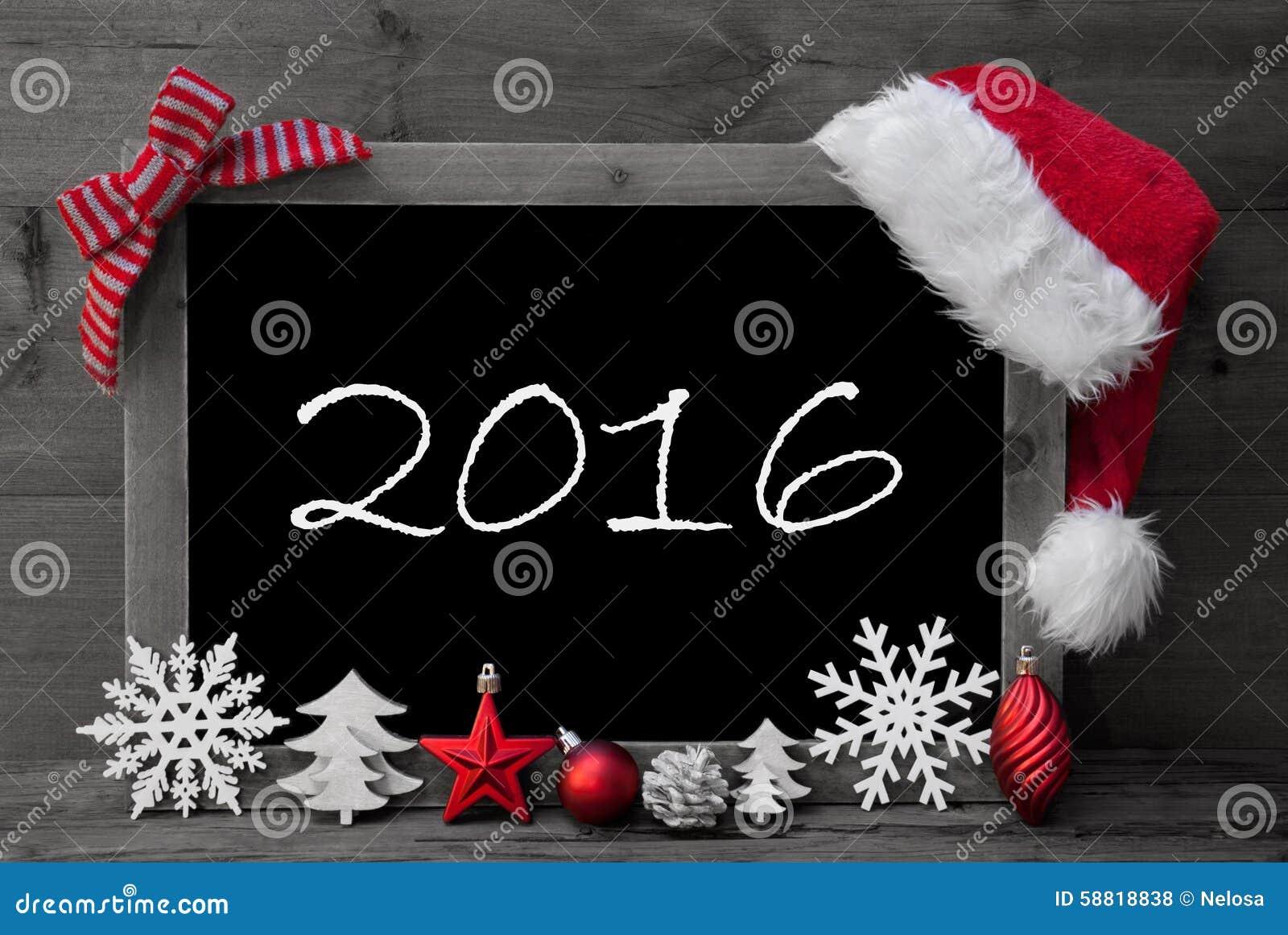#B6152C Tableau Noir Santa Hat Christmas Decoration Text 2016  6061 decoration de noel tableau 1300x960 px @ aertt.com