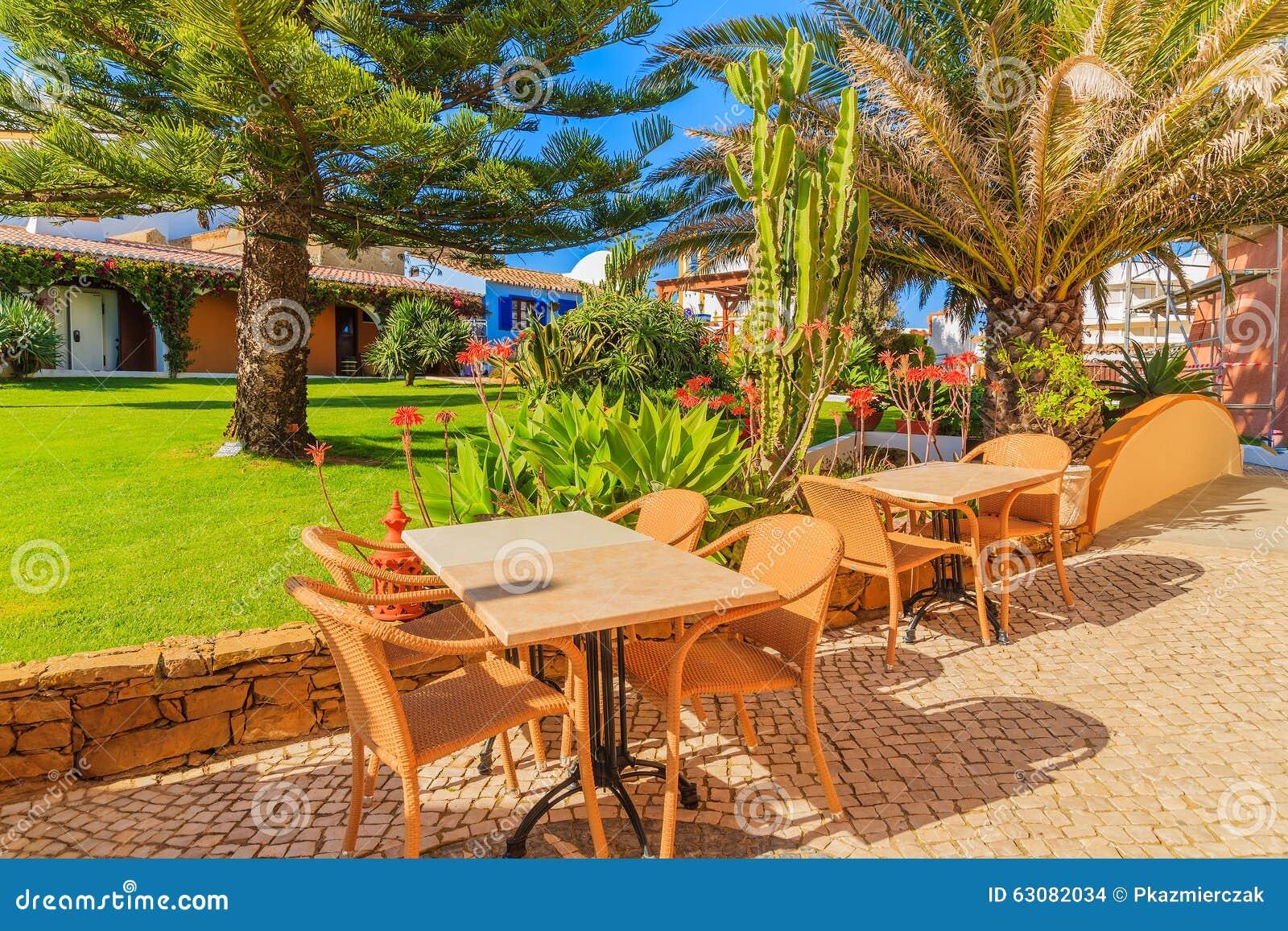 Download Tableaux Avec Des Chaises En Parc Vert Photo stock - Image du stationnement, coloré: 63082034