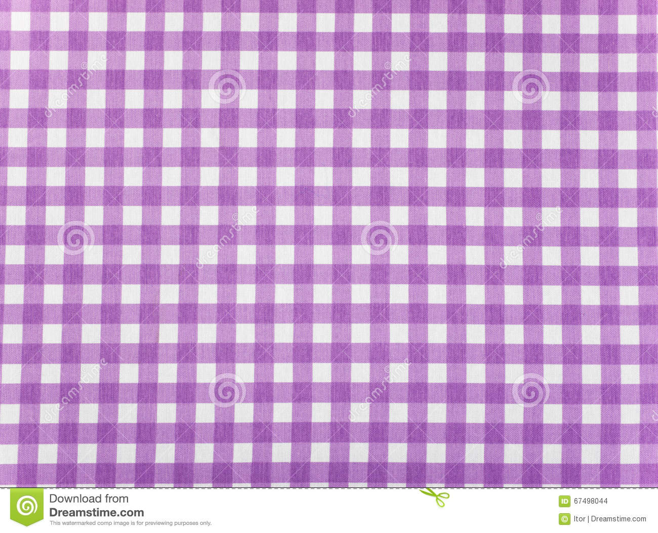 Tablecloth Checkered Purple And White Texture Background