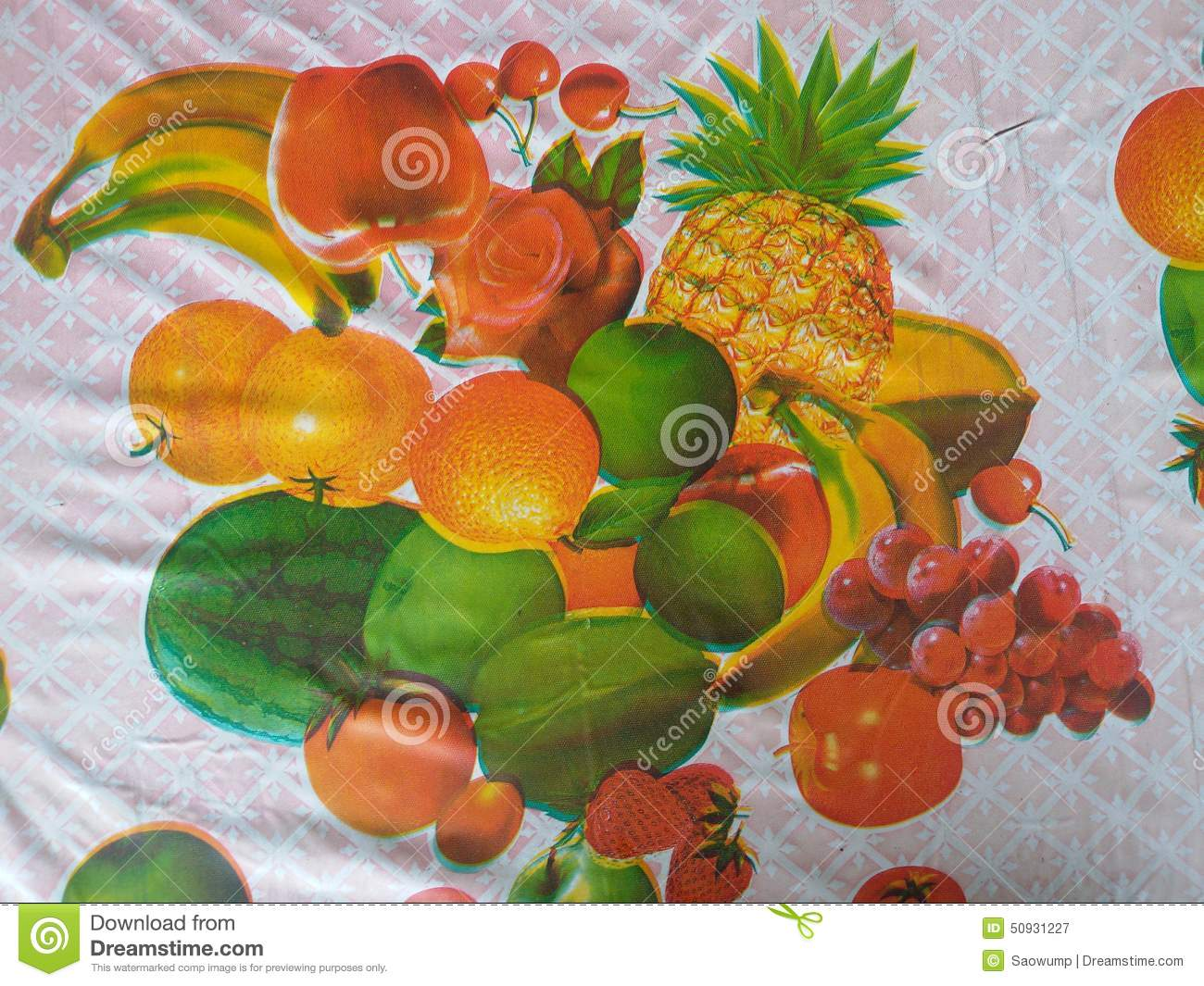 Tablecloth Design Stock Image Image Of Texture Design 50931227