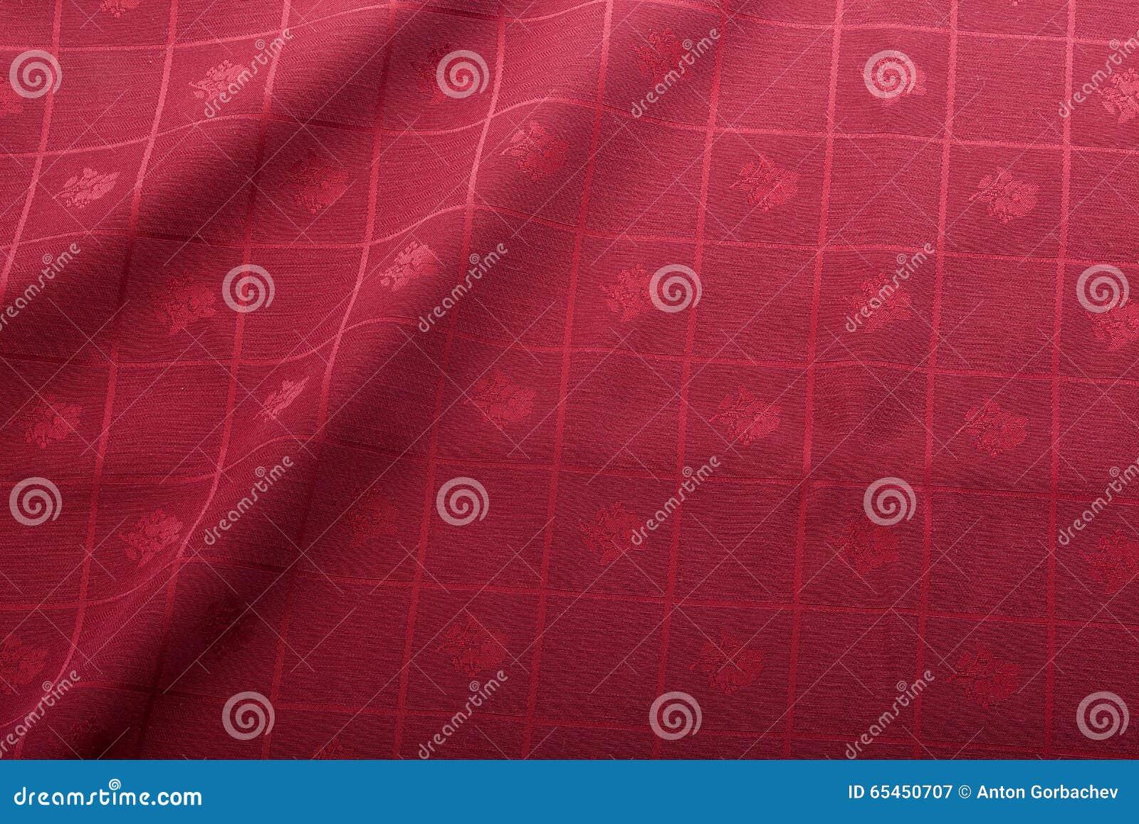Tablecloth vermelho