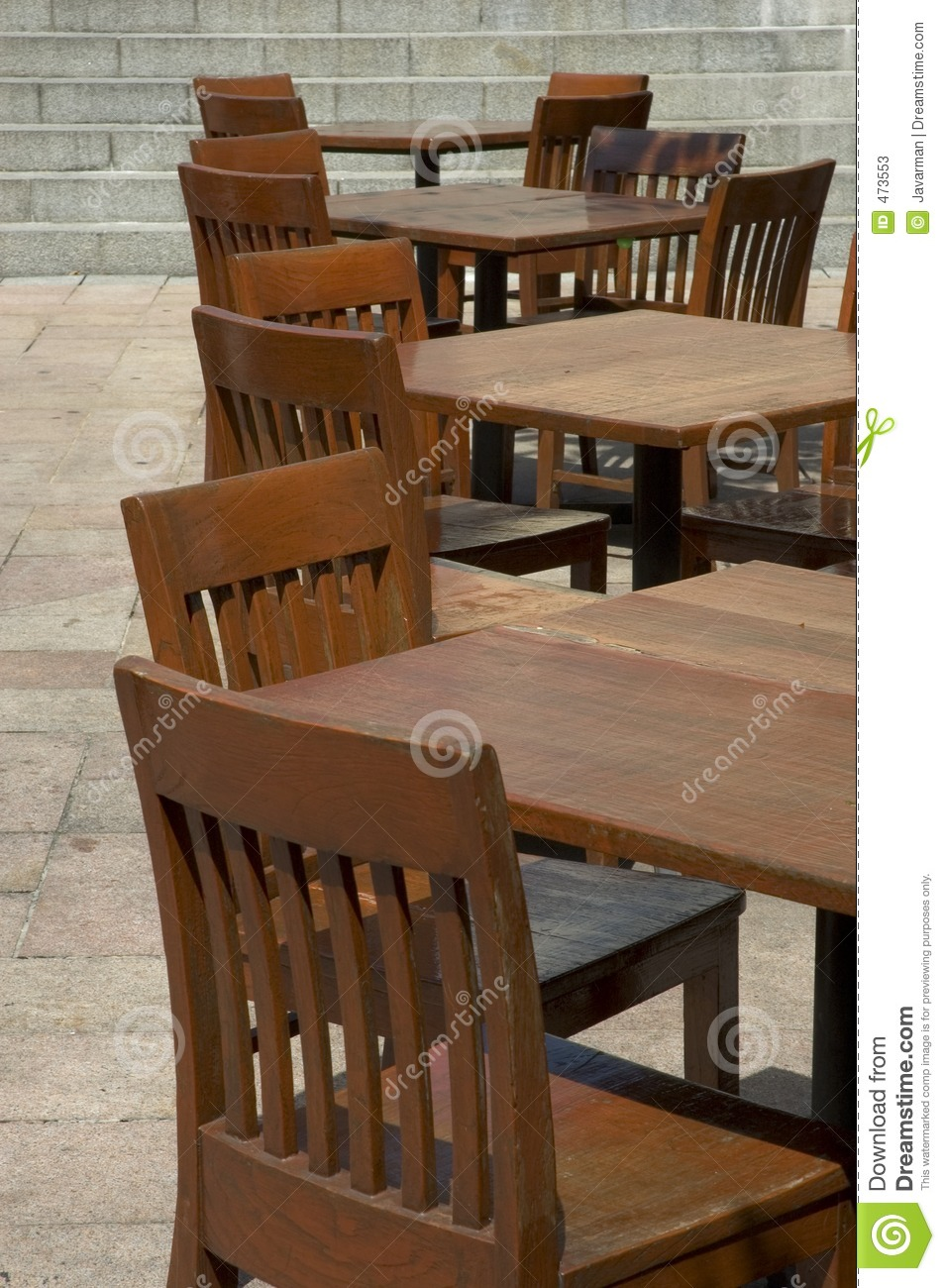 Download Tables and chairs stock image. Image of executive, chairs - 473553