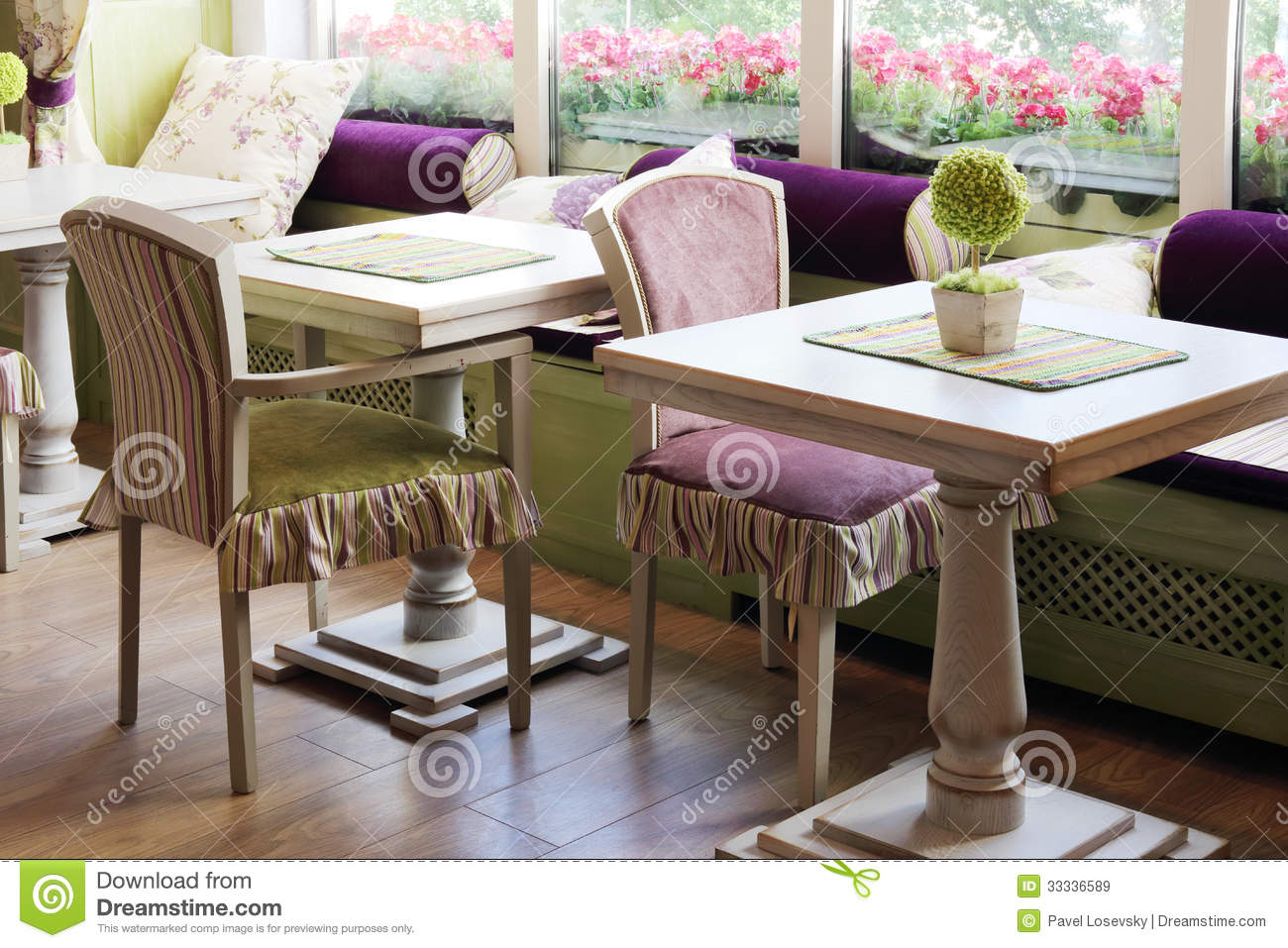 Tables near windows in cafe anderson editorial stock image for Table moscow