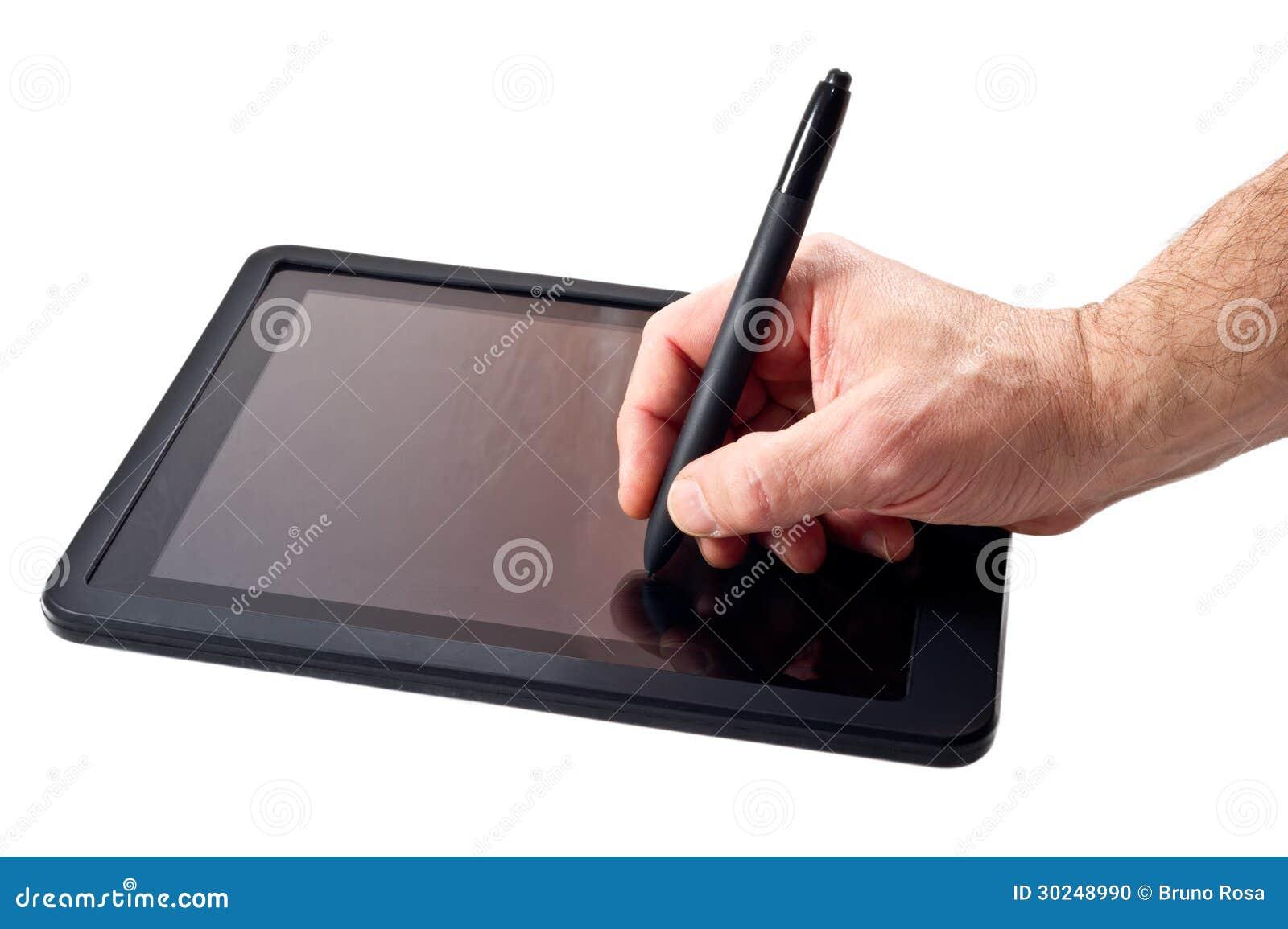 Tablette-PC und -stift
