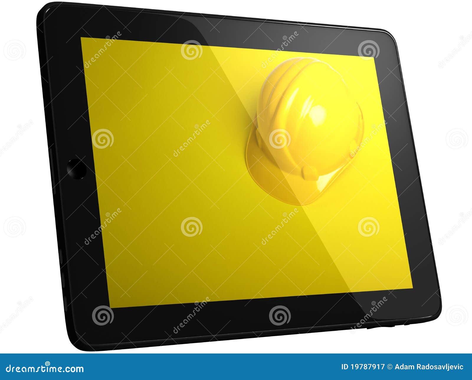 Tablet för datorhjälmskärm