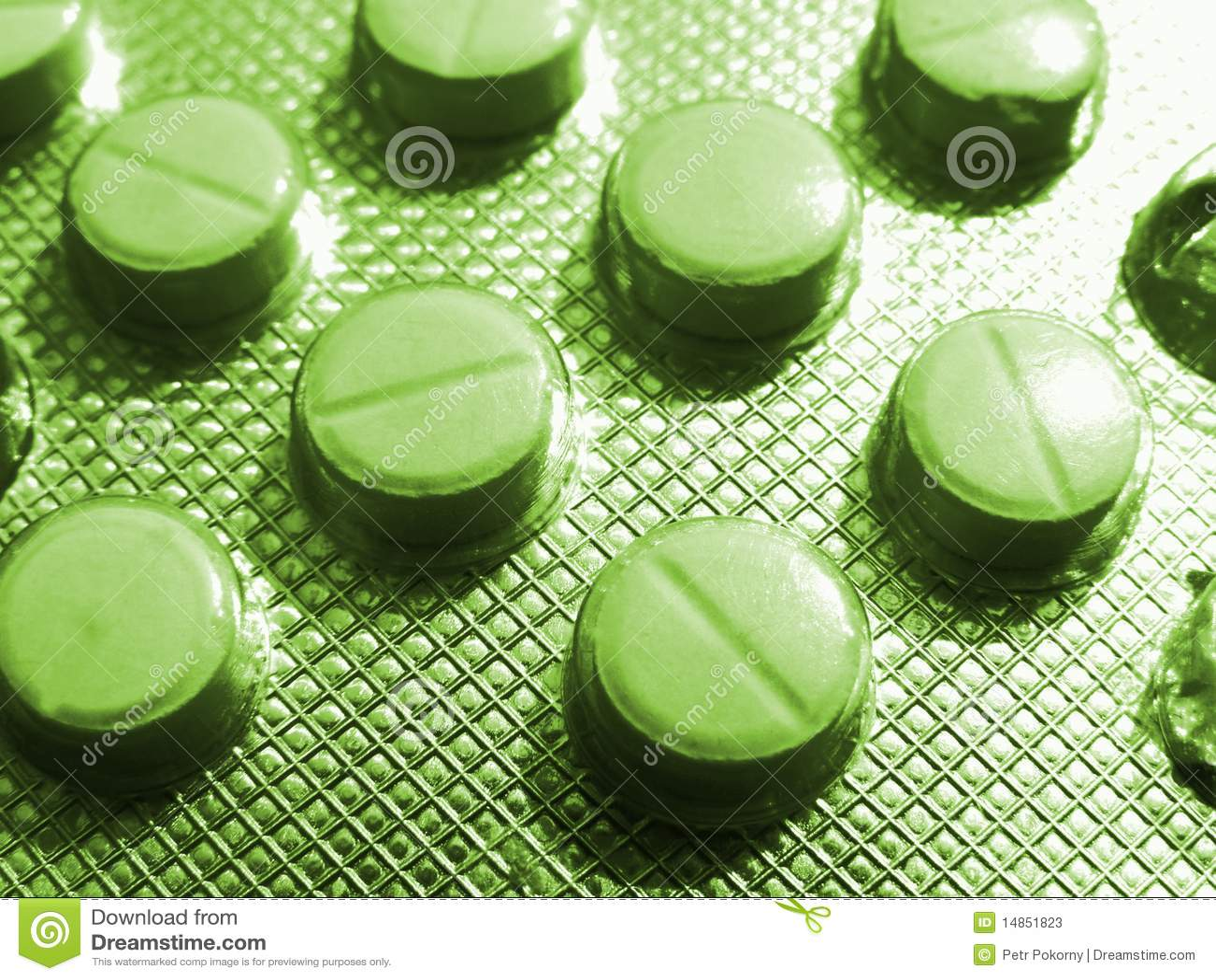 Tablet medicaments