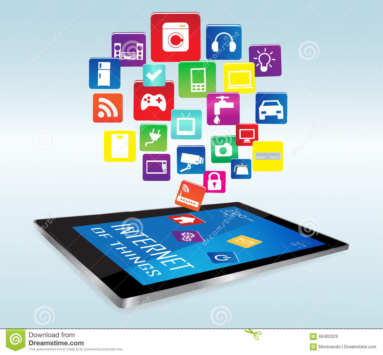 Tablet PC and Internet of things Apps