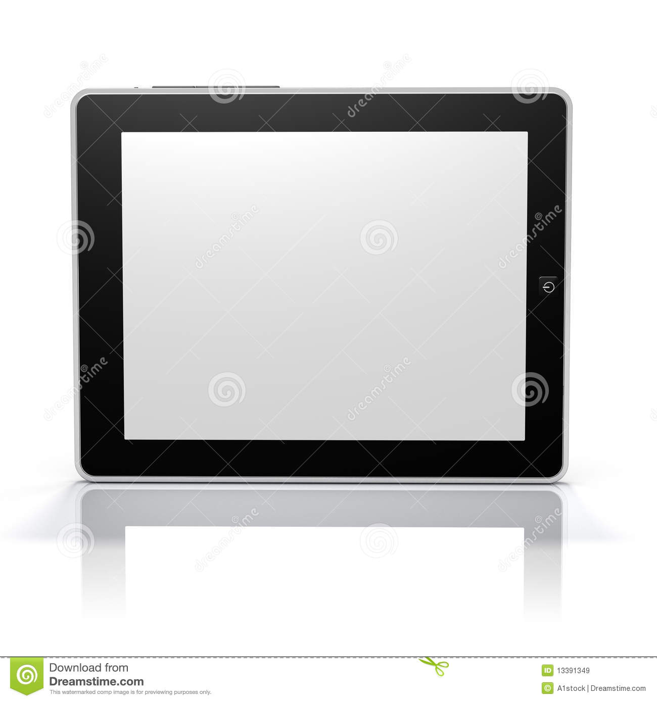 tablet pc screen side clip path screen object royalty free stock images image 13391349. Black Bedroom Furniture Sets. Home Design Ideas
