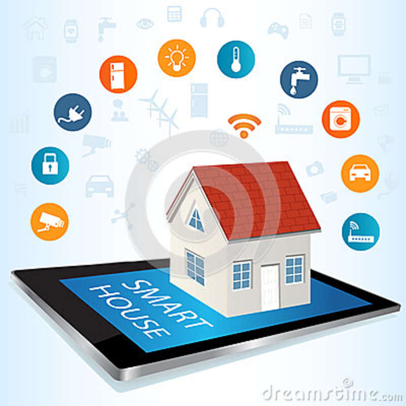 Tablet PC and Smart House technology system with centralized con