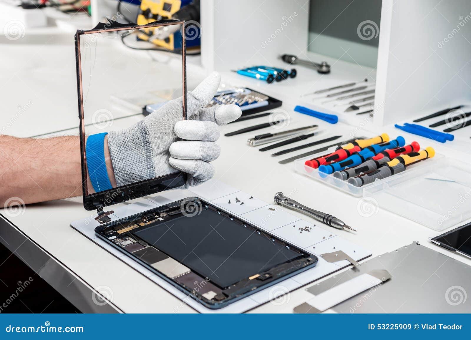 Tablet, pod repair