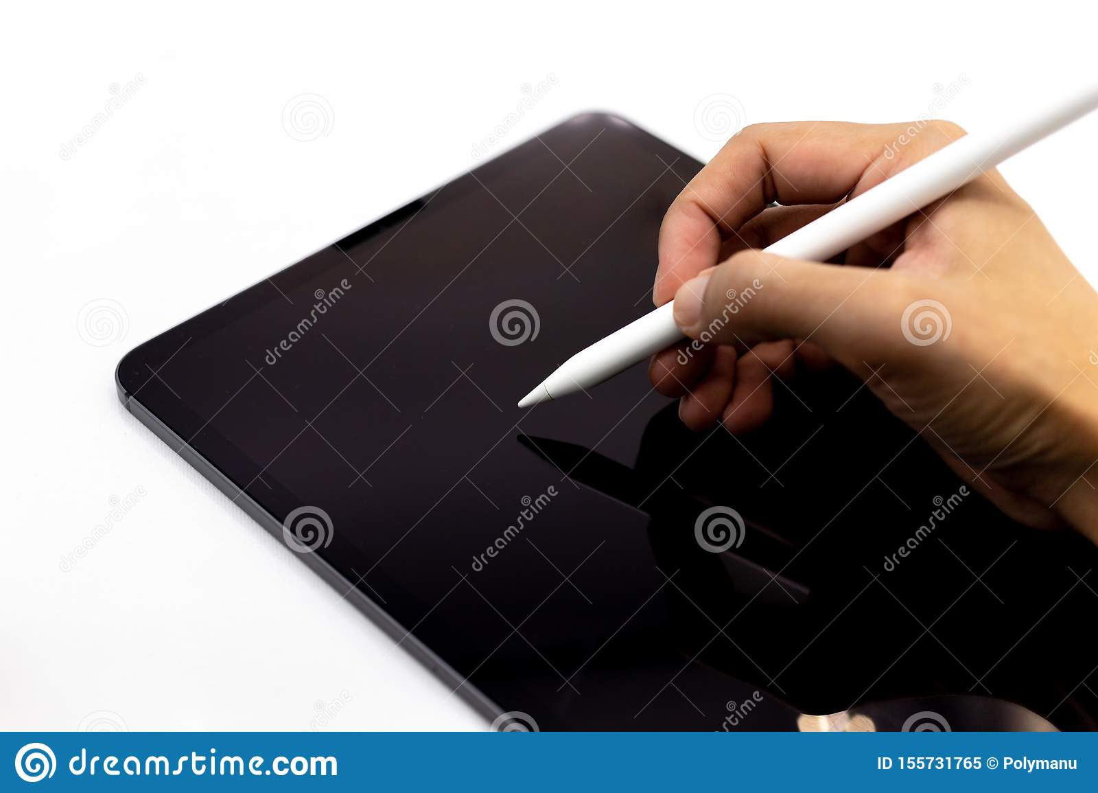 Tablet, Smartphone, image use for mobile applications and multimedia programs