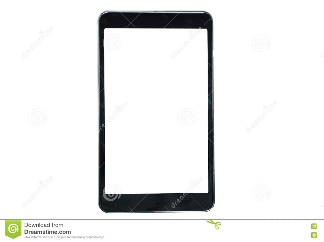 Tablet On A White Background, Business Ideas, Online Sales, Frame ...