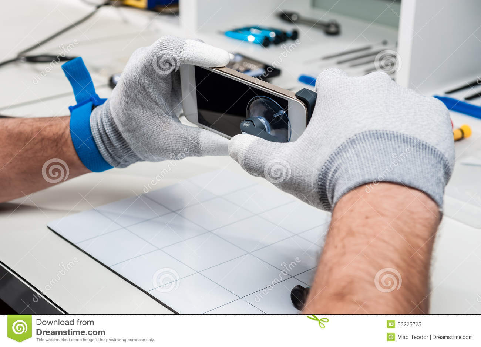 Tableta, reparación de la vaina