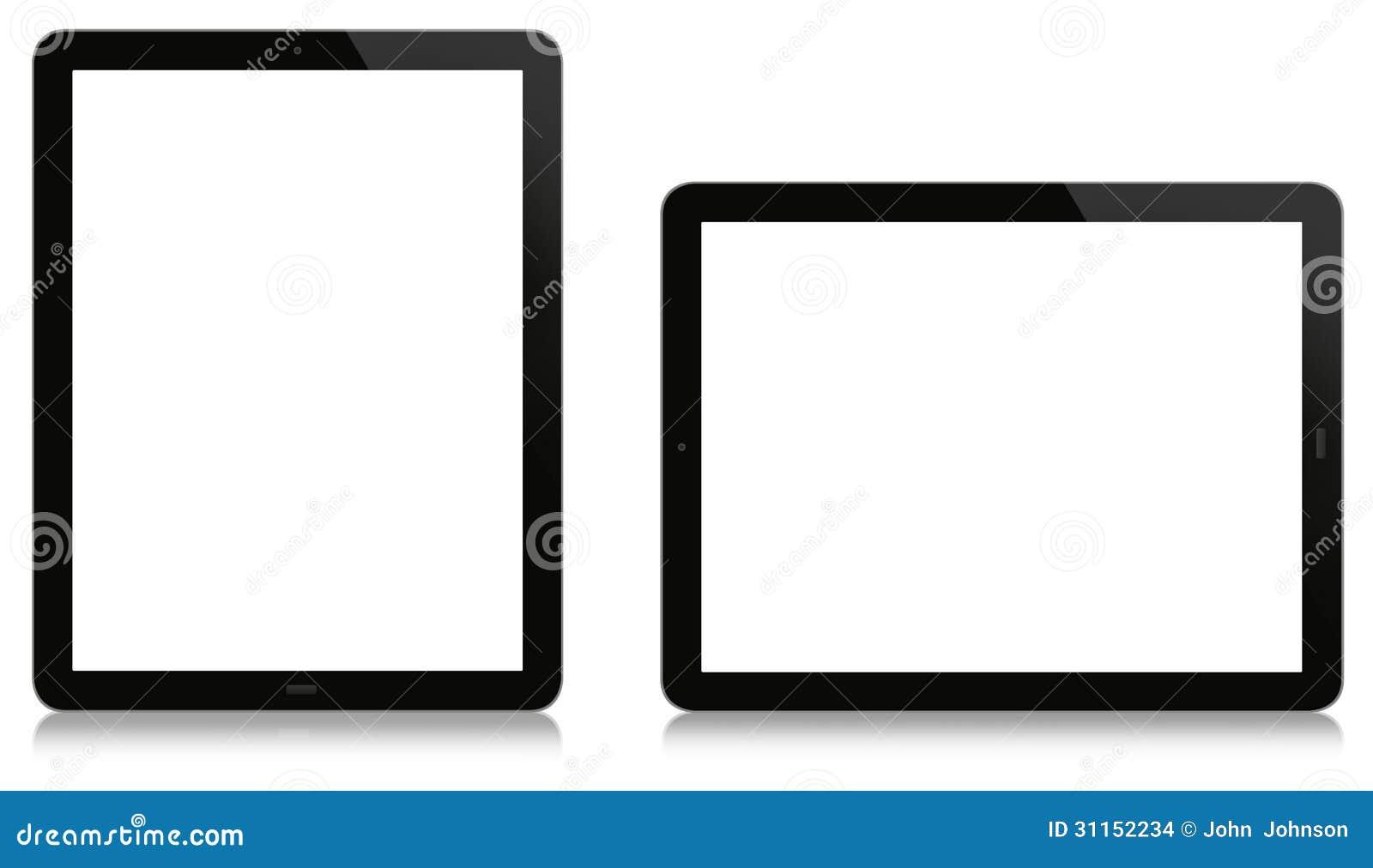 Tableta vertical y horizontal