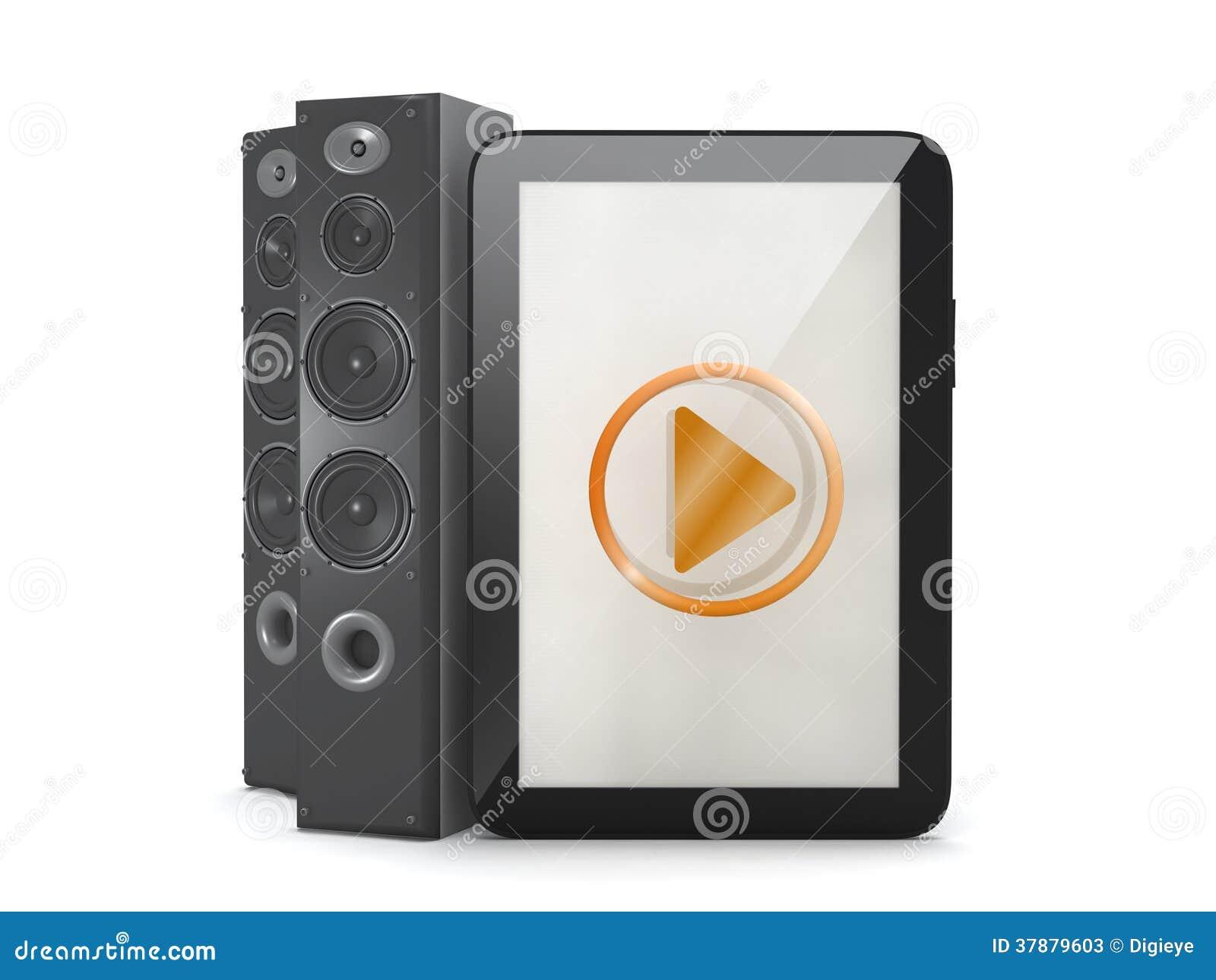 Tabletcomputer met correct systeem