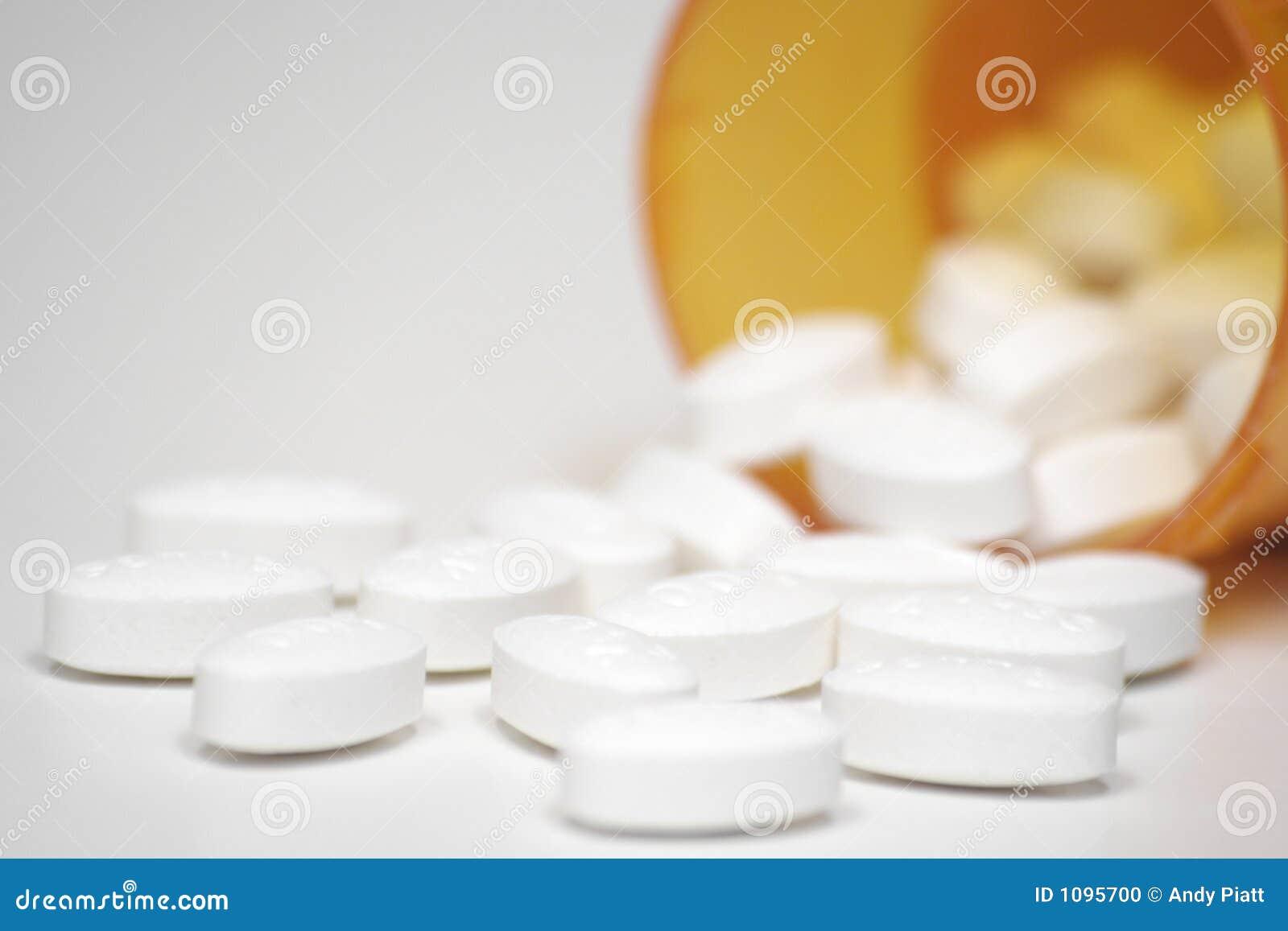 Tabletki recepturowe narkotyk