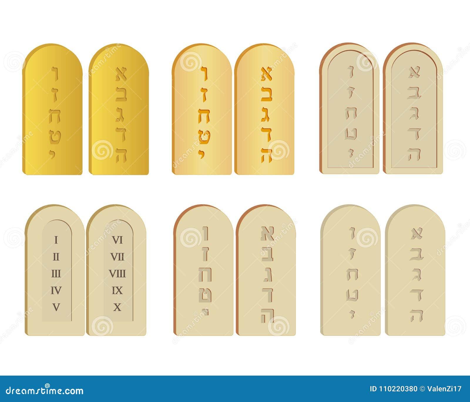 Tablets des Steinsatzes
