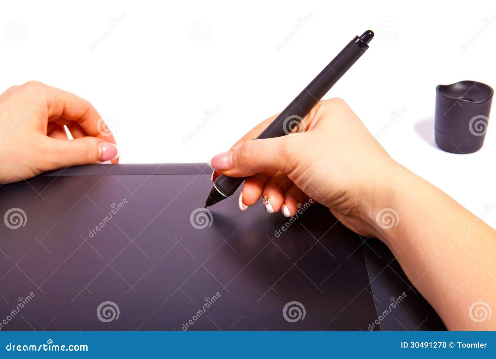 tablette graphique format a4 stock photo image 30491270. Black Bedroom Furniture Sets. Home Design Ideas