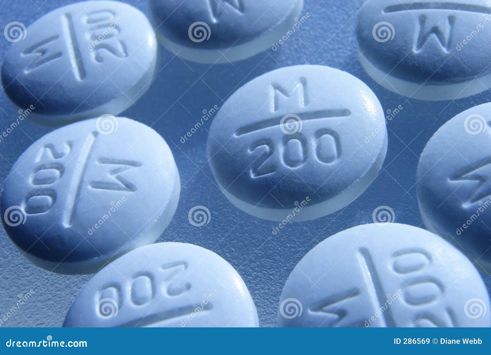 Tabletten met een wenk van blauw