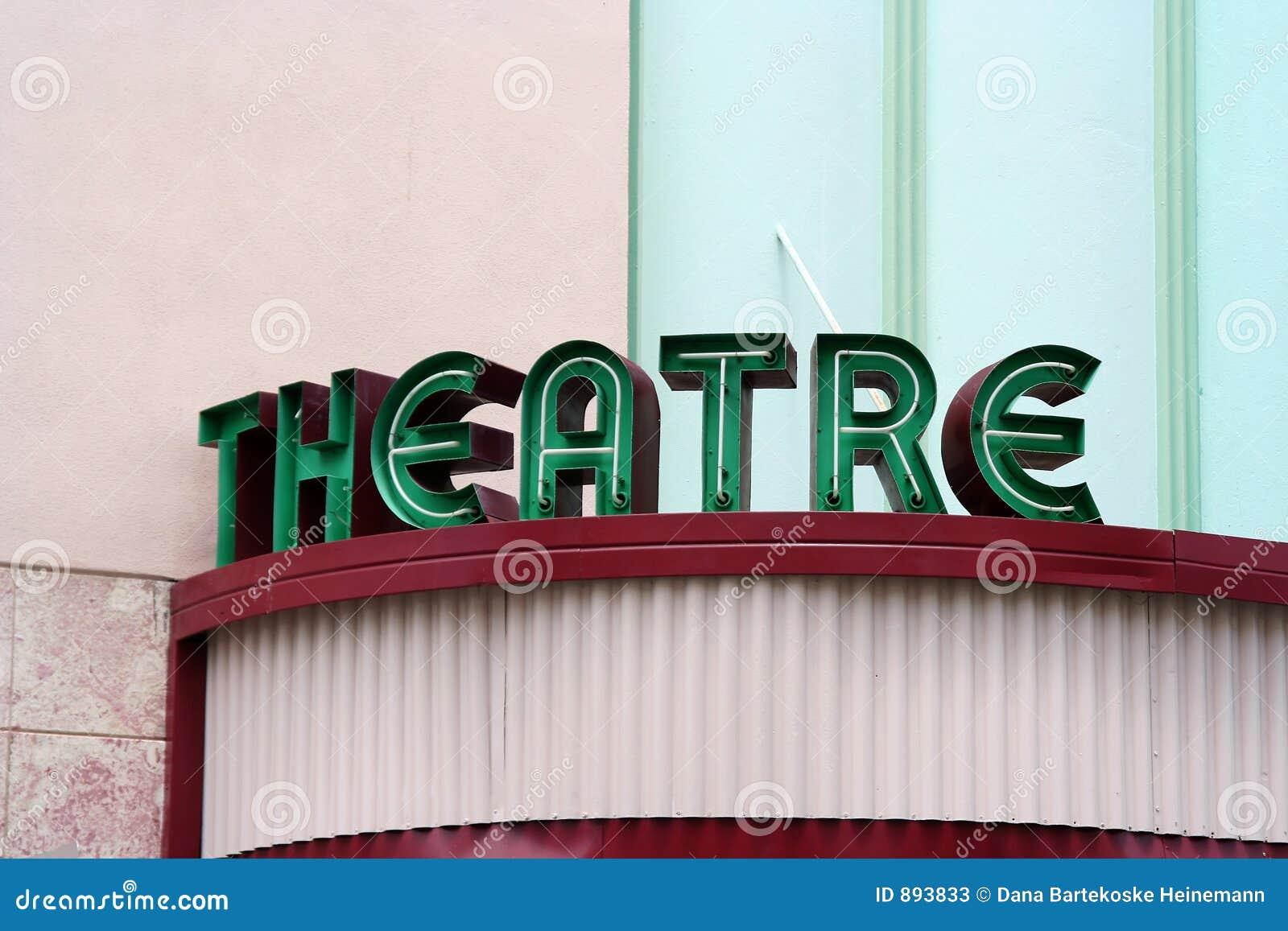 Tablica do teatru