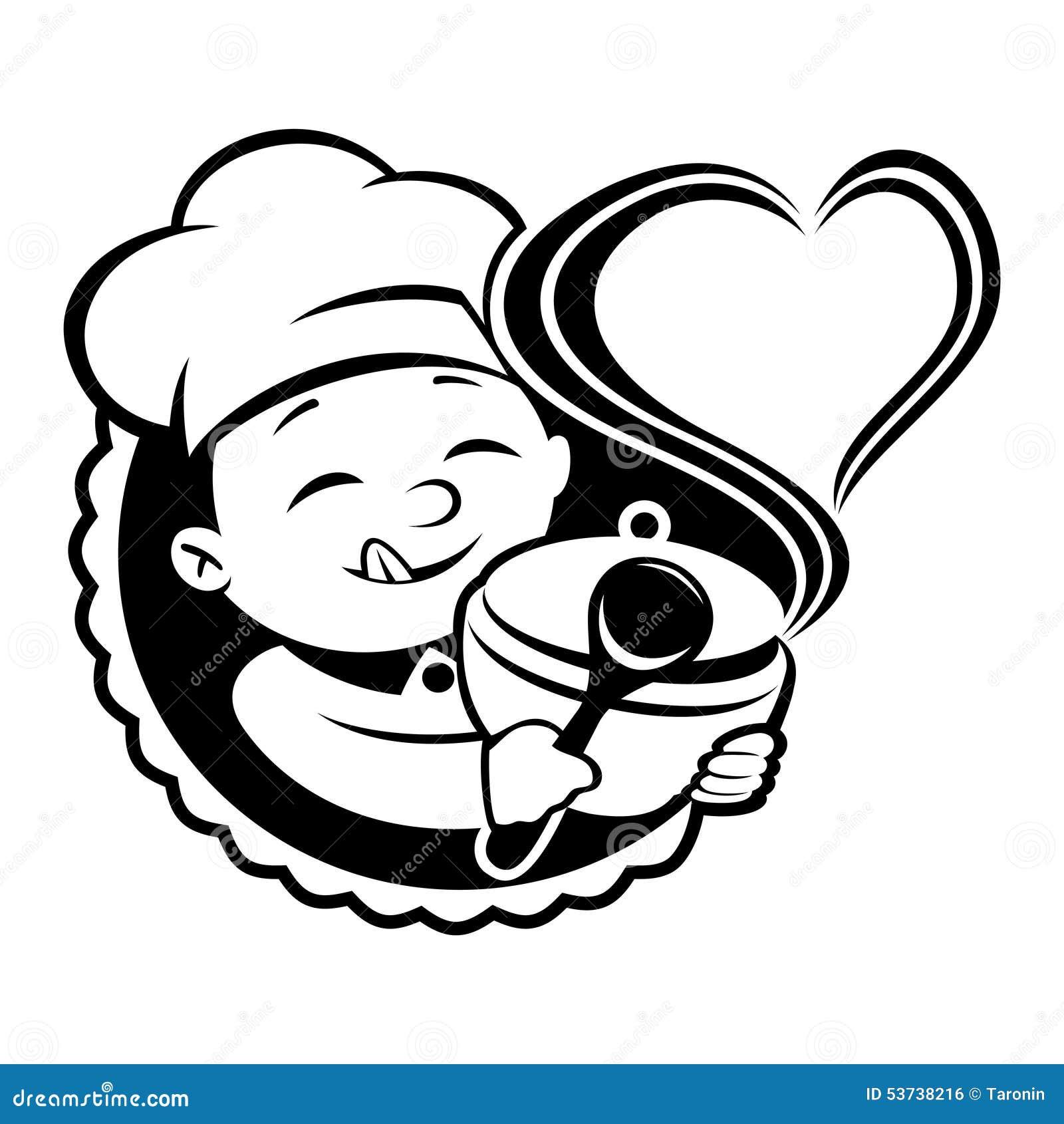 Tablica wektora kucharz