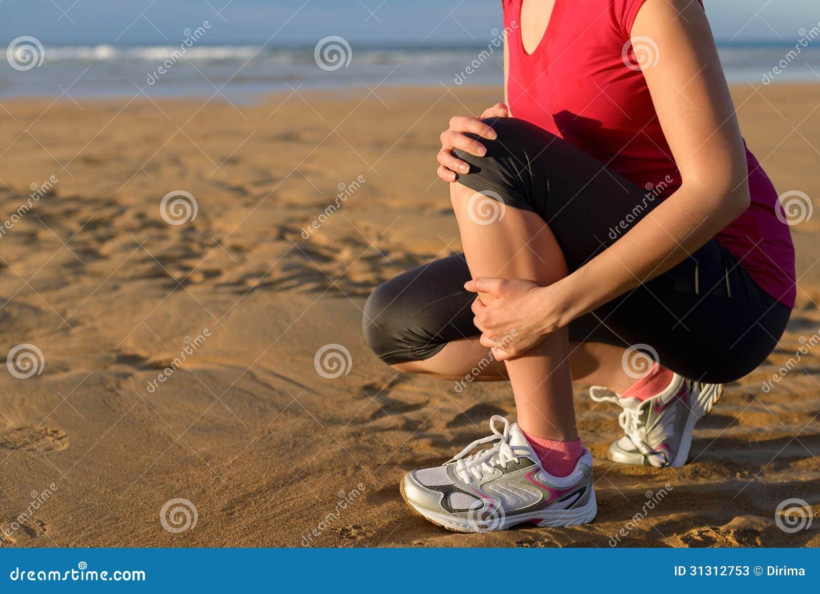 Tablilla de espinilla de lesión del corredor